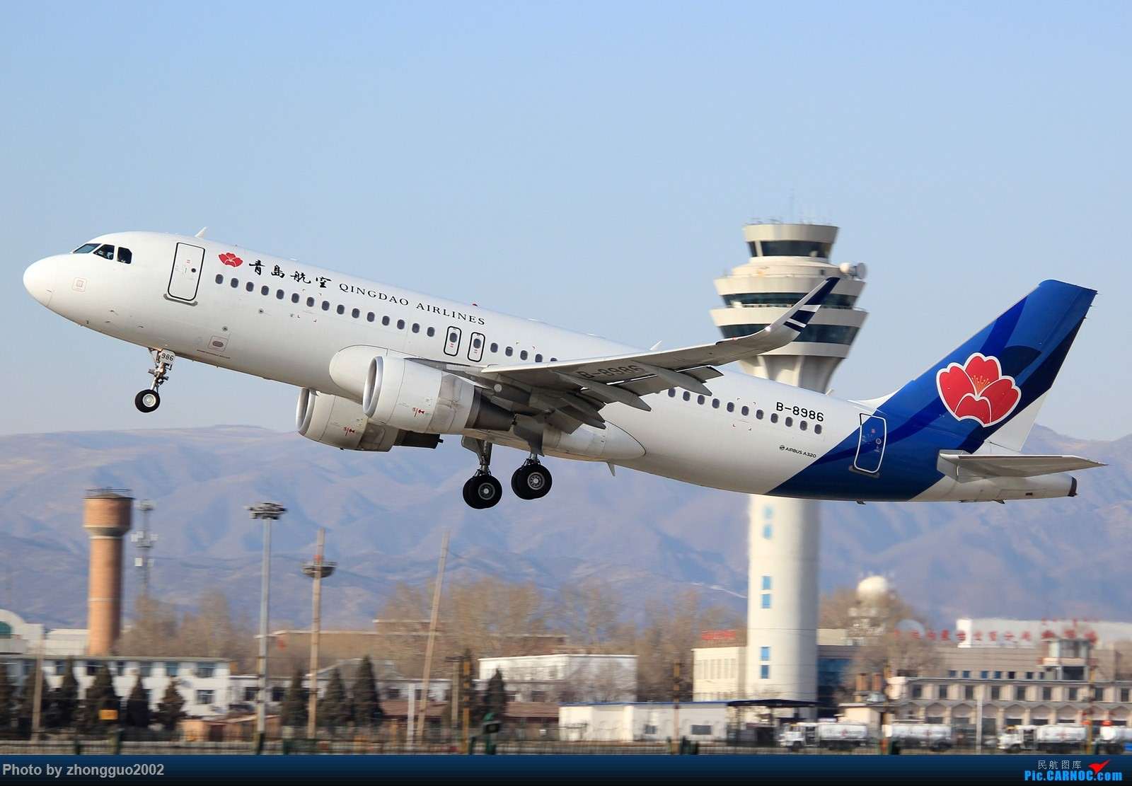 Re:[原创]久违---呼和浩特 AIRBUS A320-200 B-8986 中国呼和浩特白塔国际机场