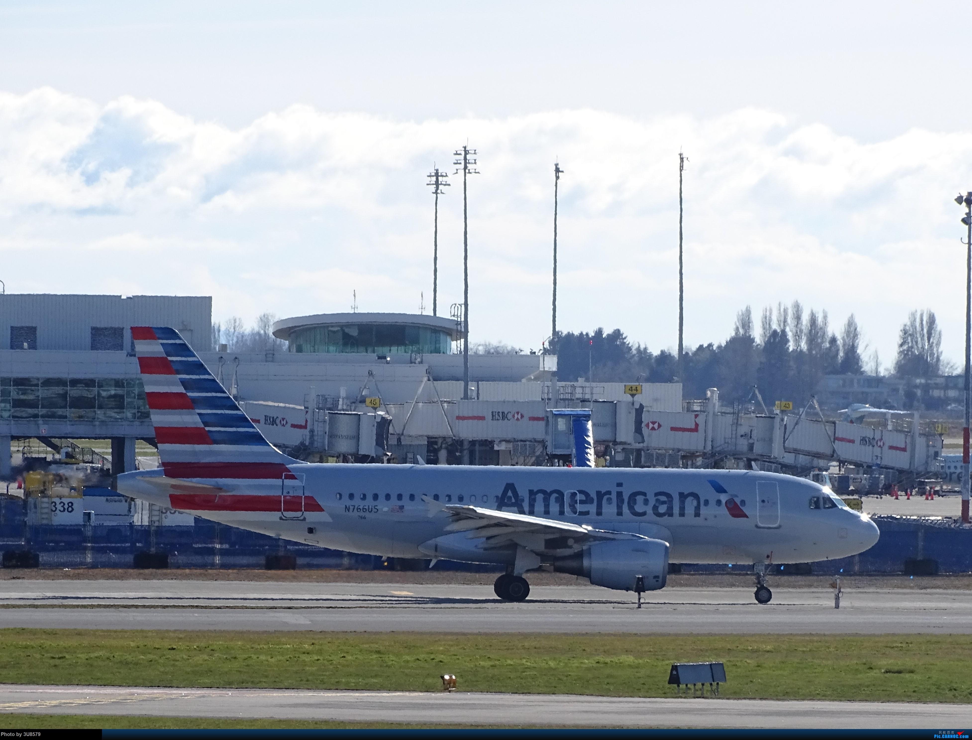 [原创]回国前再发一贴,望一切安好 AIRBUS A319-100 N766US 加拿大温哥华机场