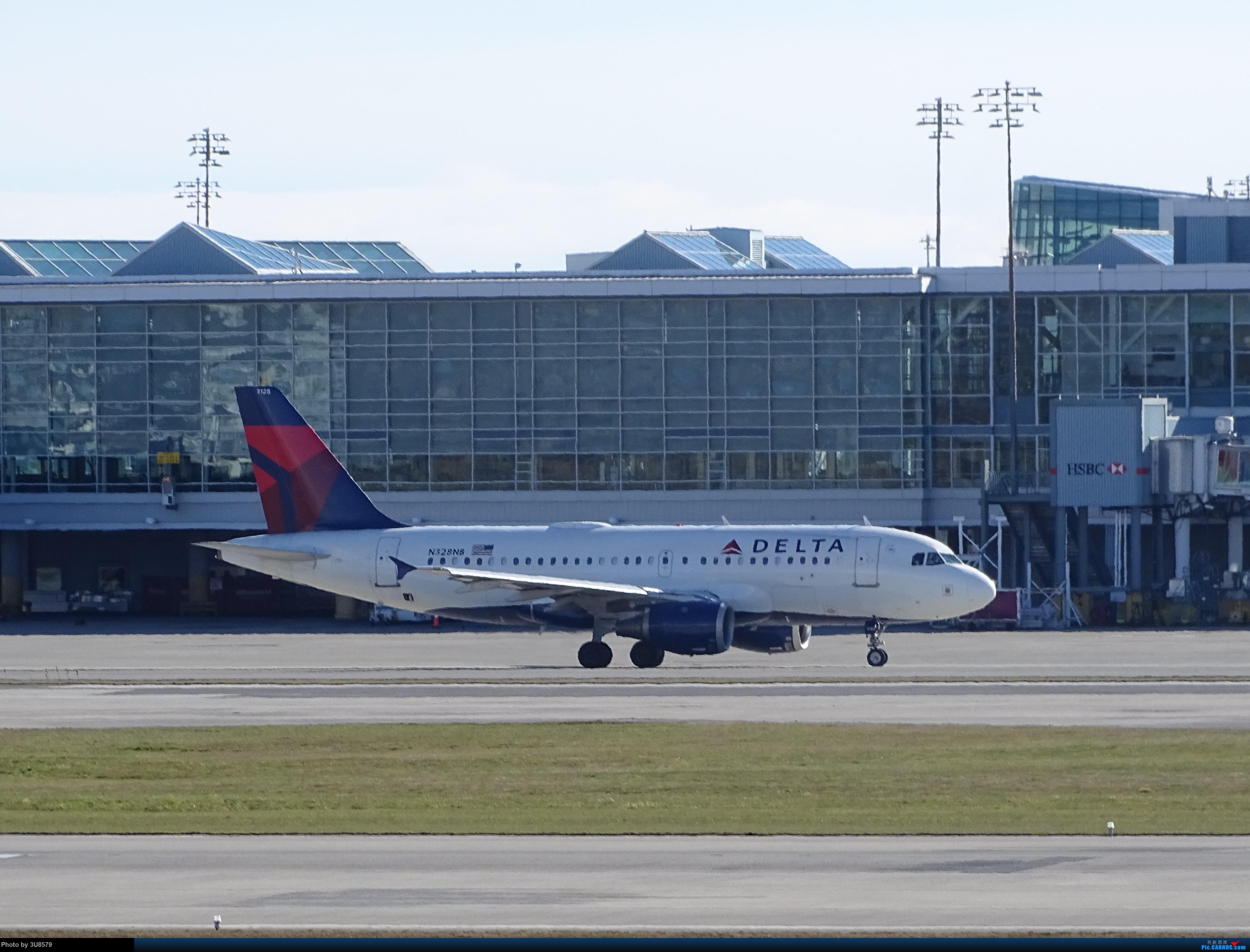 Re:回国前再发一贴,望一切安好 A319-100 N328NB 加拿大温哥华机场