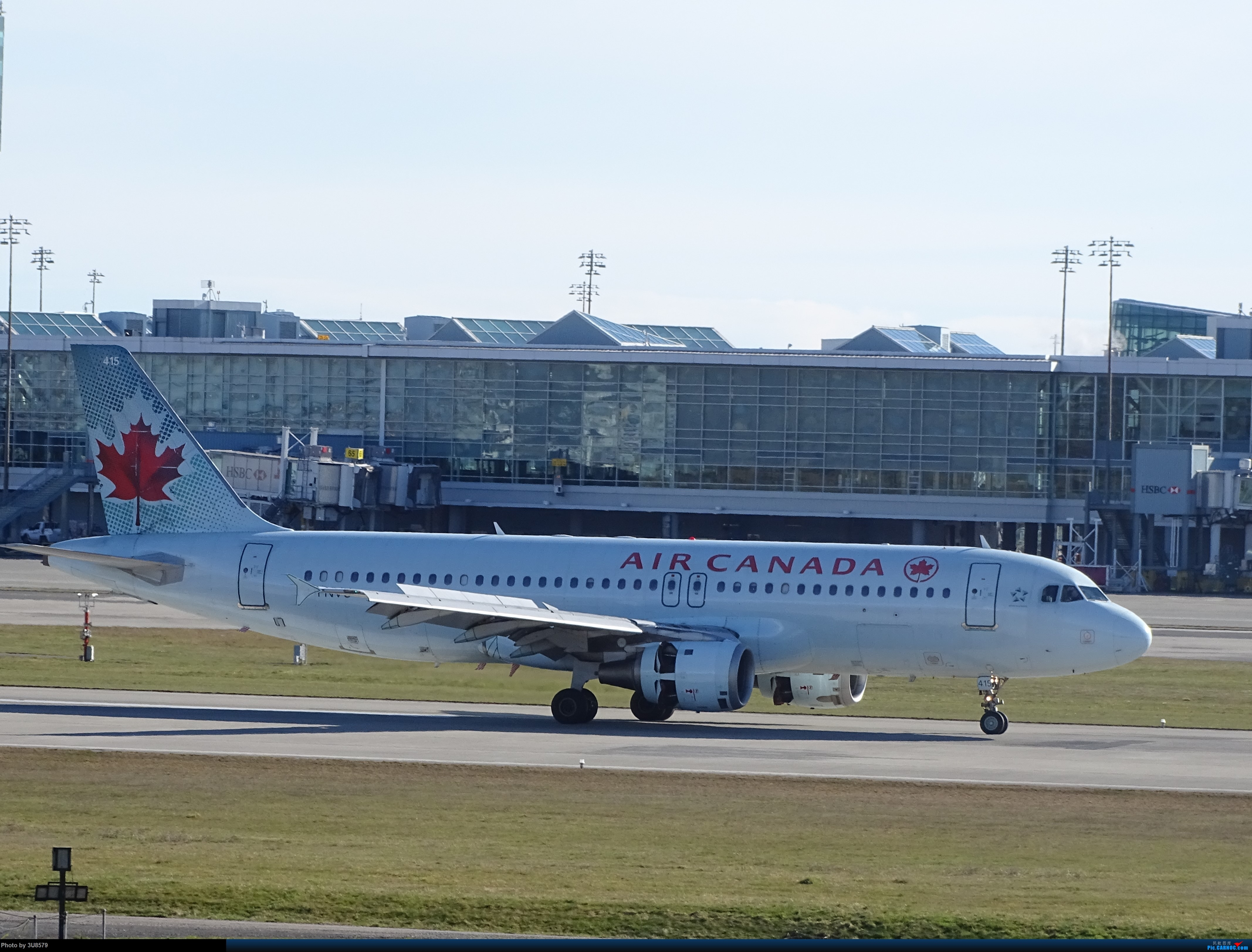 Re:回国前再发一贴,望一切安好 AIRBUS A320-200 C-FNVU YVR