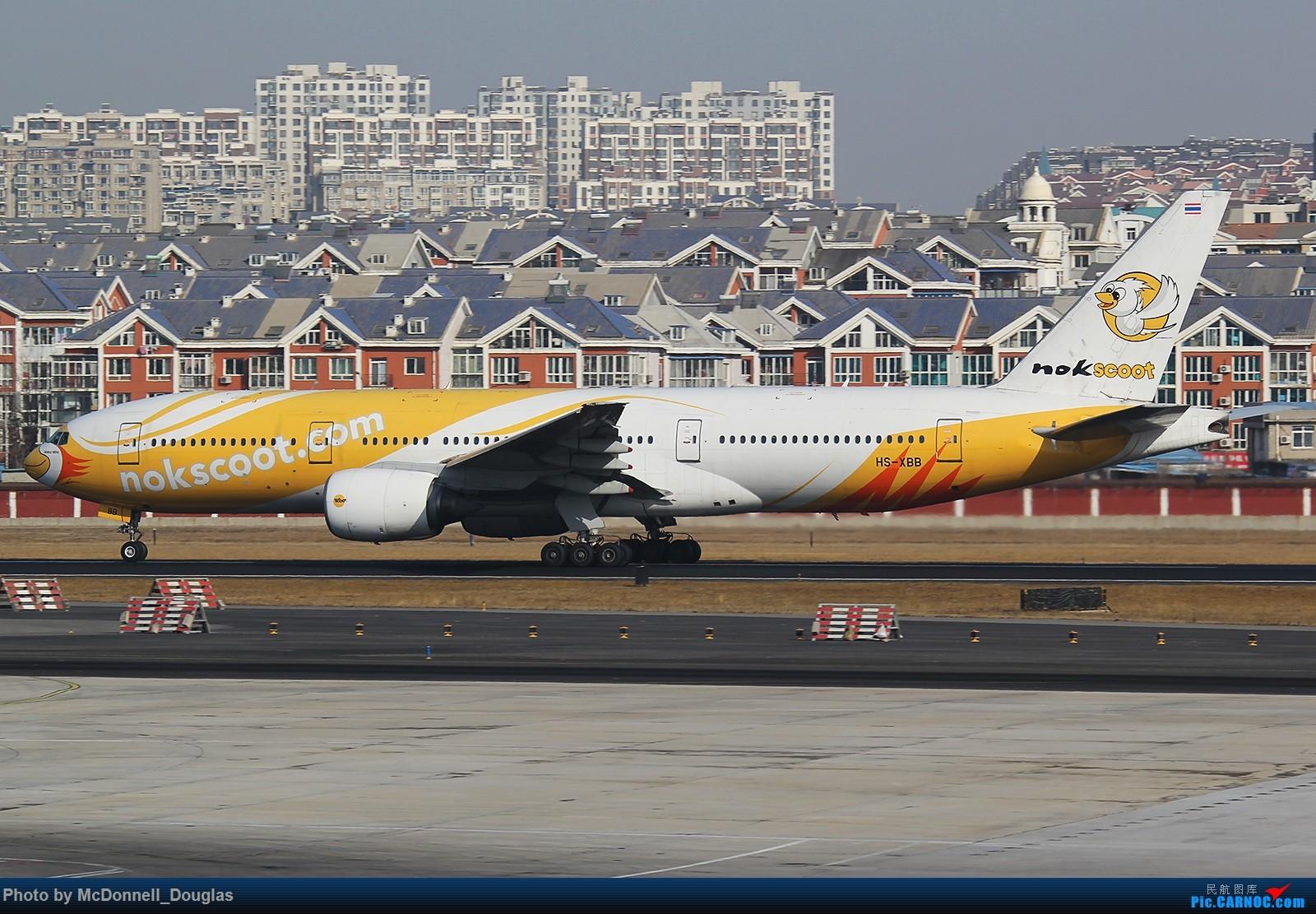Re:[原创]【上海飞友会】年后发一波图来刷一小些存在感~ BOEING 777-212/ER HS-XBB 中国大连国际机场