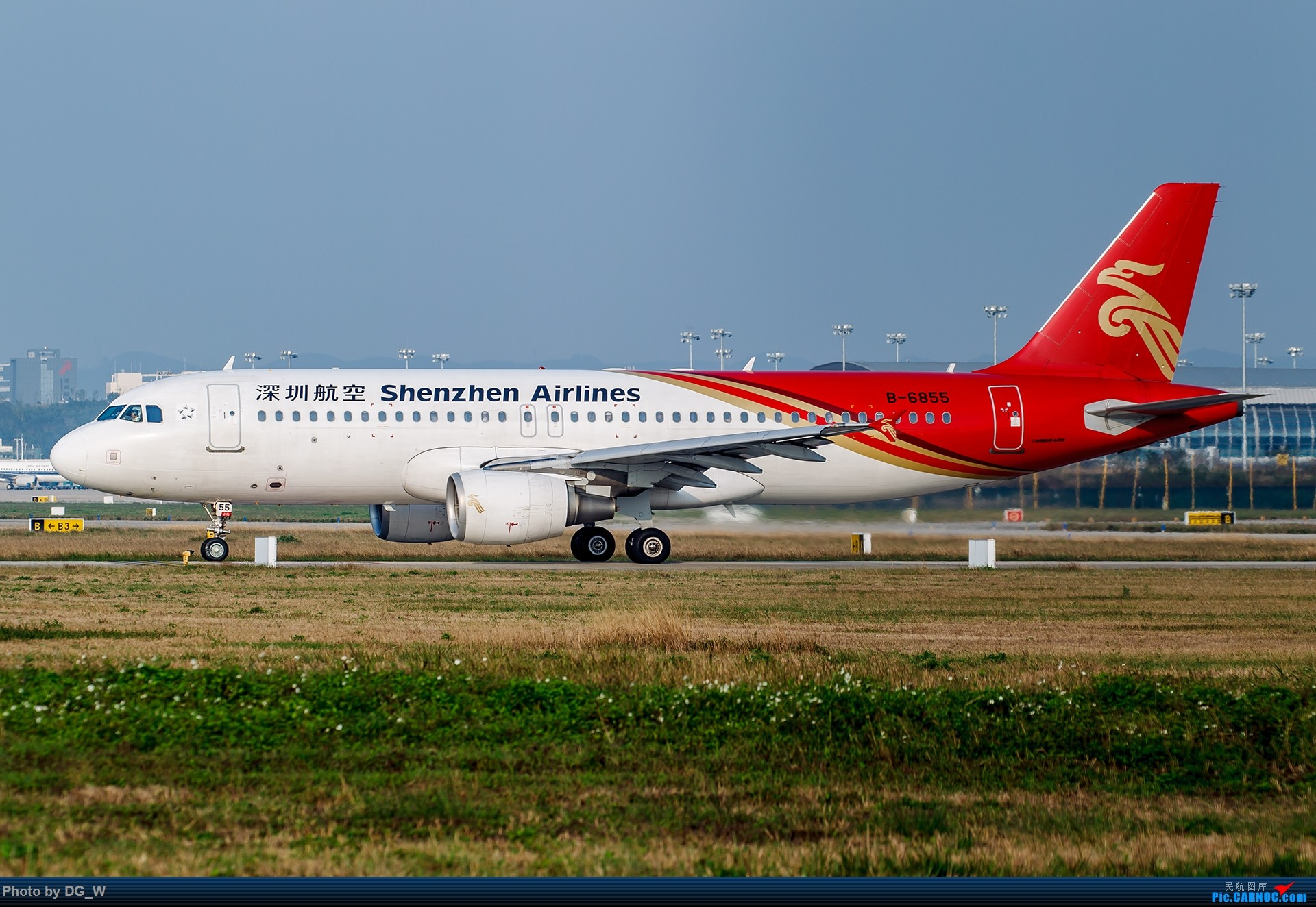 Re:[原创]【南宁飞友】年初NNG小拍,前来空客专场中砸场190和74F AIRBUS A320-200 B-6855 中国南宁吴圩国际机场