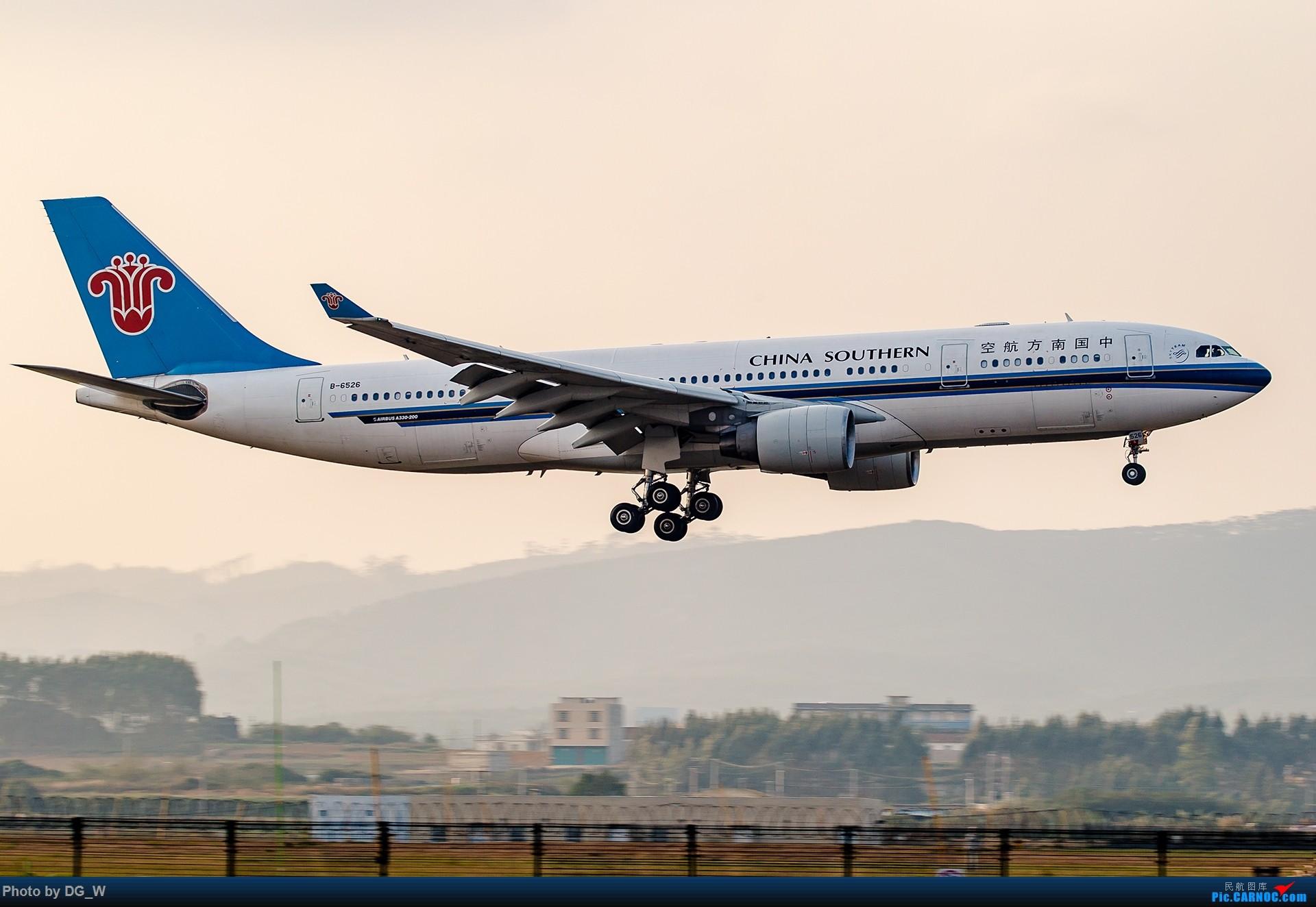 Re:[原创]【南宁飞友】年初NNG小拍,前来空客专场中砸场190和74F AIRBUS A330-200 B-6526 中国南宁吴圩国际机场