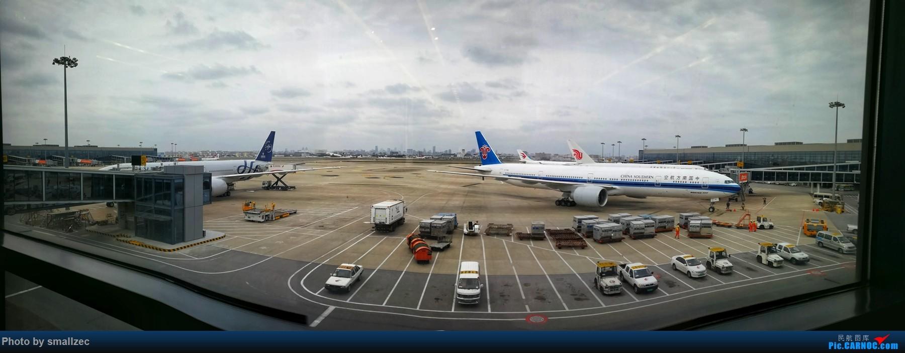 [原创]【一图党】纳尼!菜航两台77W于SHA同框?! BOEING 777-300ER B-2049 中国上海虹桥国际机场