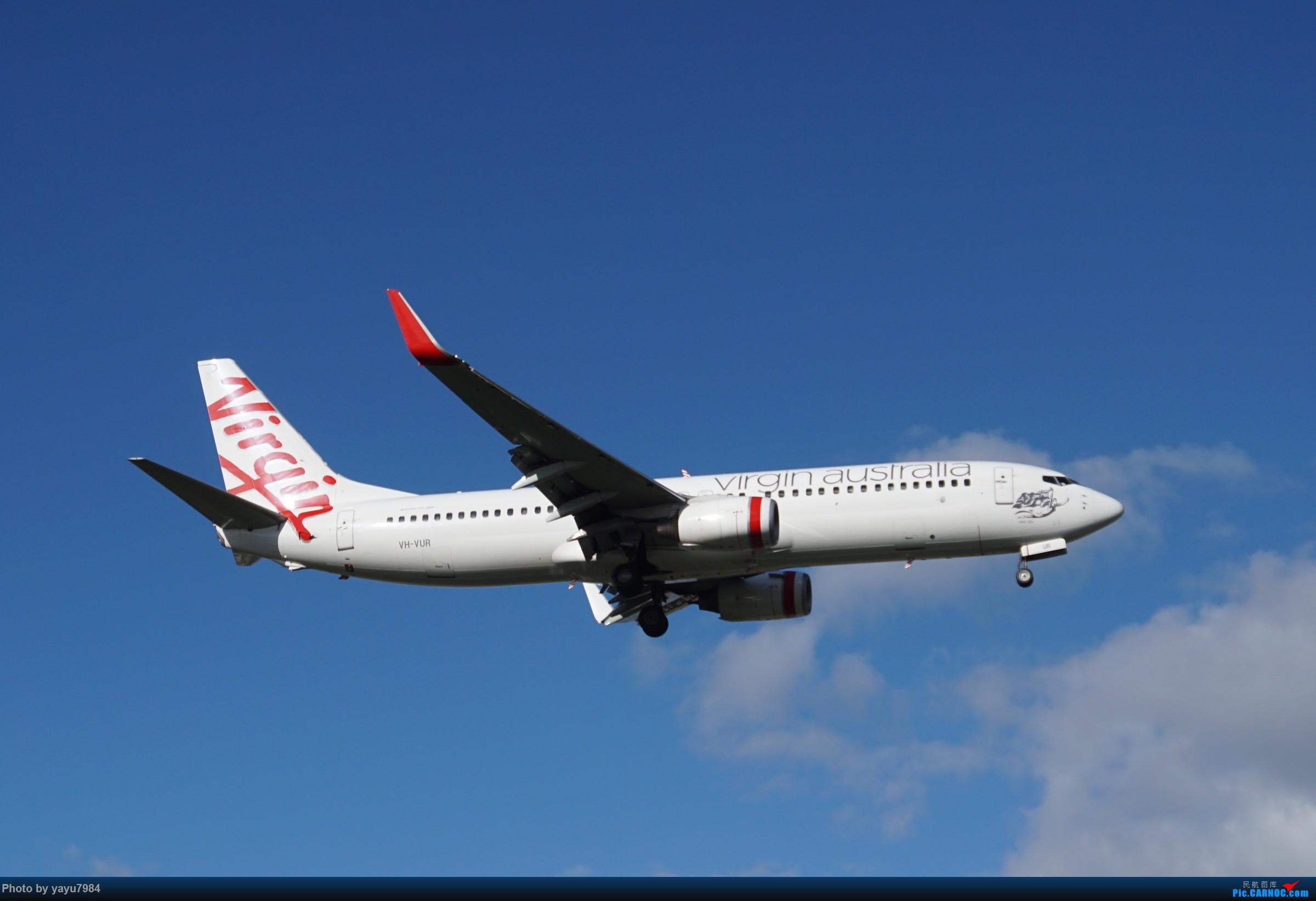 [原创][SYD] 烂天解锁A340-300,顺带其他好货 BOEING 737-800 VH-VUR 澳大利亚悉尼金斯福德·史密斯机场