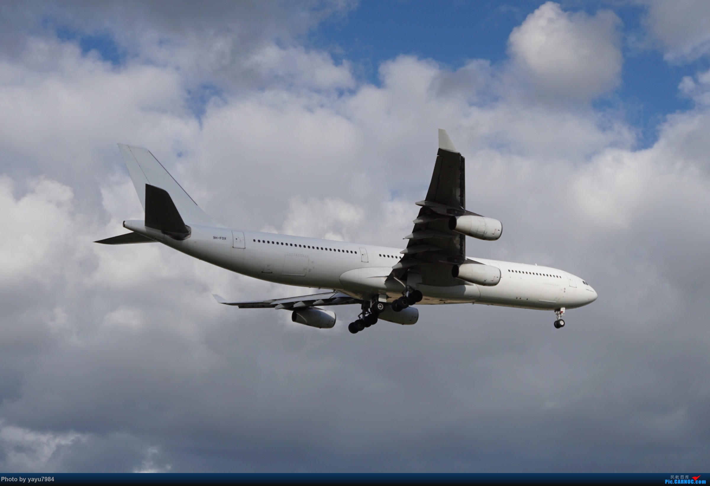 Re:[原创][SYD] 烂天解锁A340-300,顺带其他好货 AIRBUS A340-300 9H-FOX 澳大利亚悉尼金斯福德·史密斯机场
