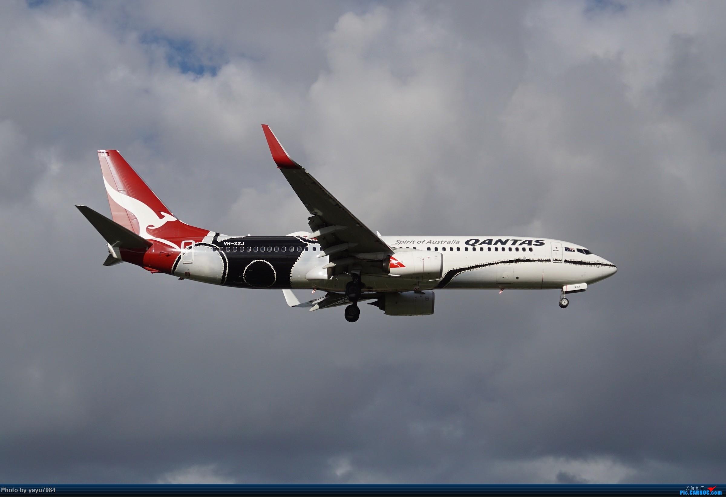 Re:[原创][SYD] 烂天解锁A340-300,顺带其他好货 BOEING 737-800 VH-XZJ 澳大利亚悉尼金斯福德·史密斯机场