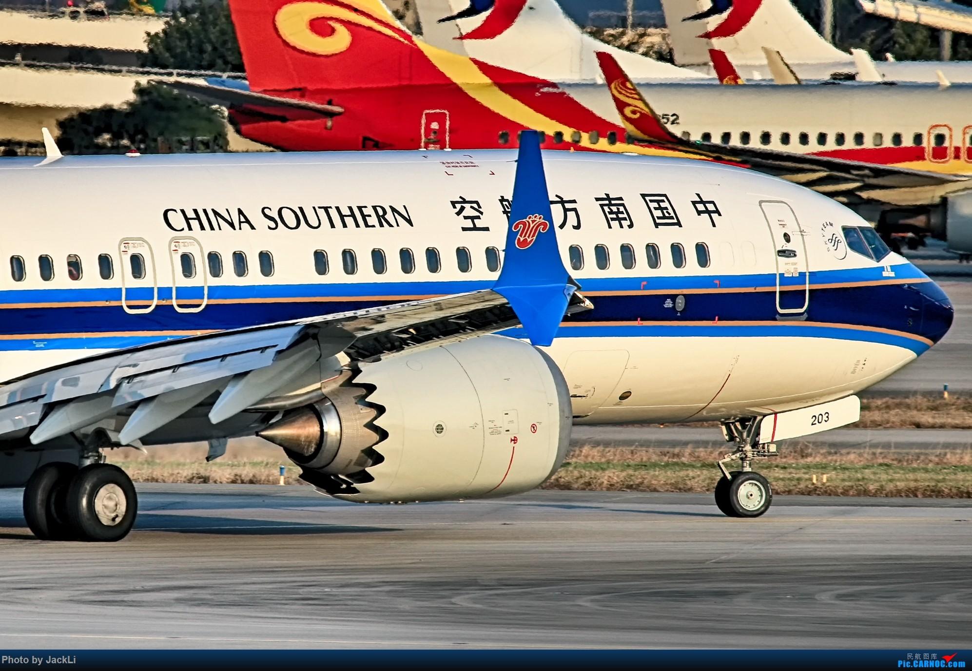 Re:[原创]【JackLi】寒假在白云机场的几次拍机~ BOEING 737MAX-8 B-1203 中国广州白云国际机场