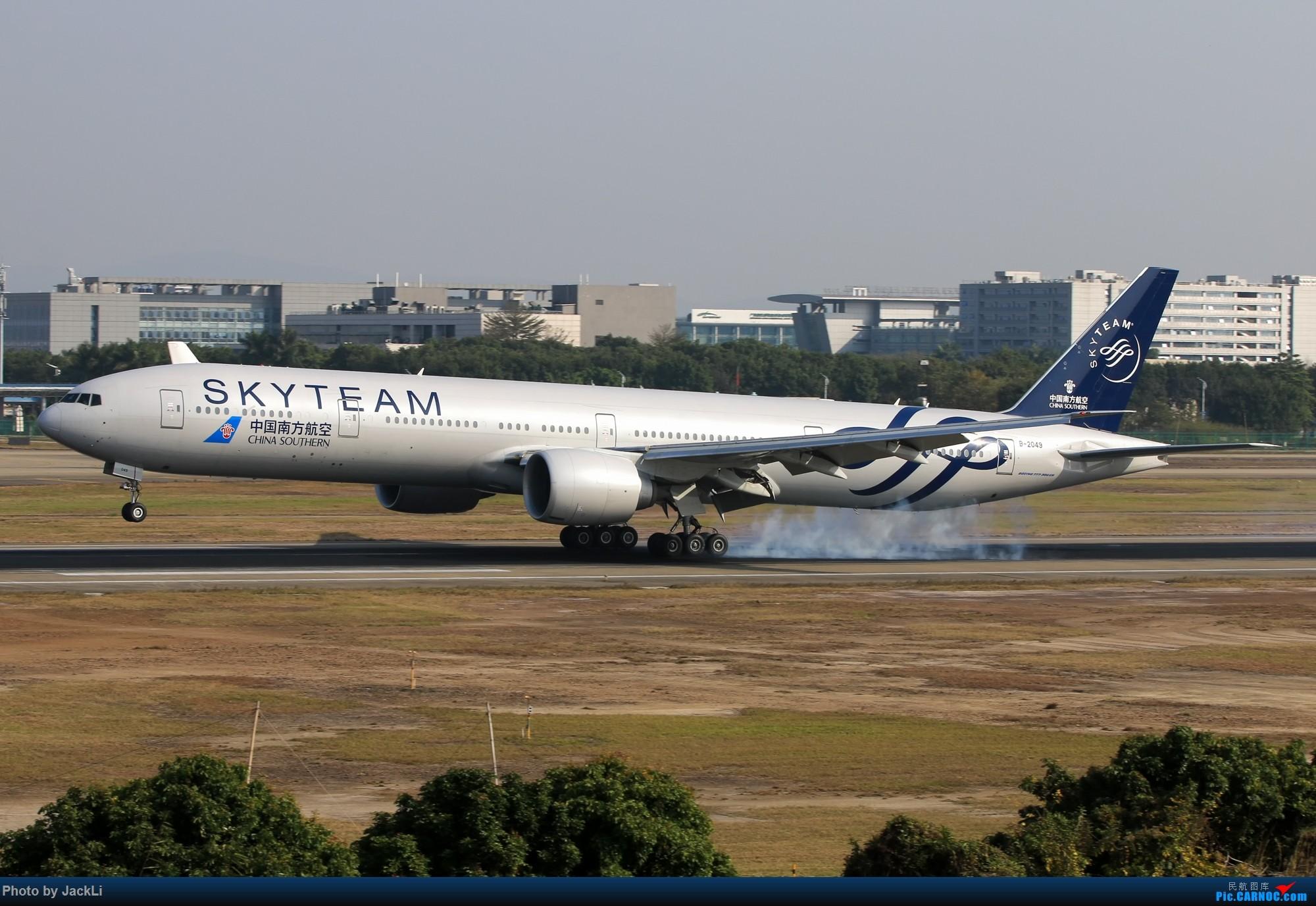 Re:[原创]【JackLi】寒假在白云机场的几次拍机~ BOEING 777-300ER B-2049 中国广州白云国际机场