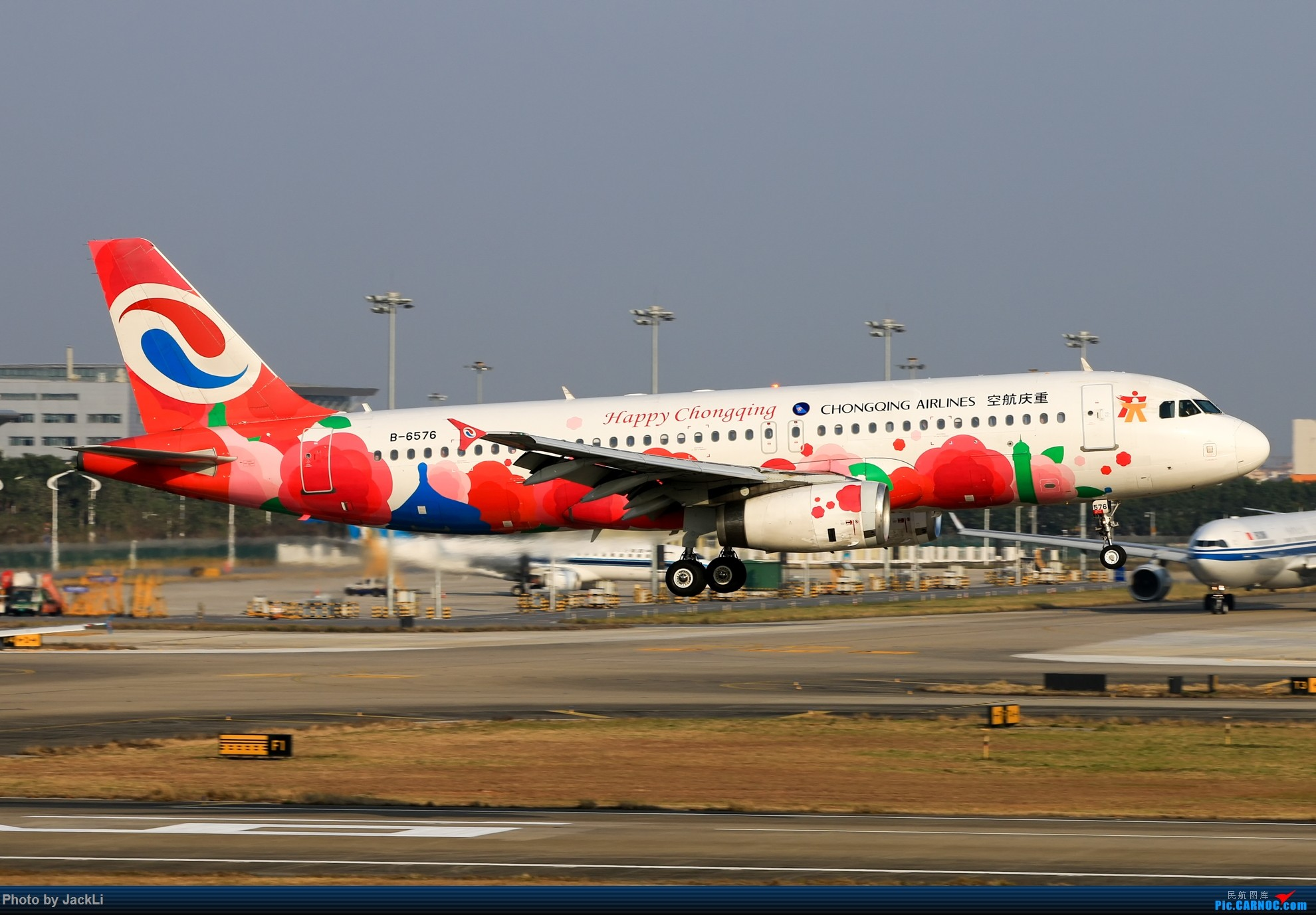Re:[原创]【JackLi】寒假在白云机场的几次拍机~ AIRBUS A320-200 B-6576 中国广州白云国际机场