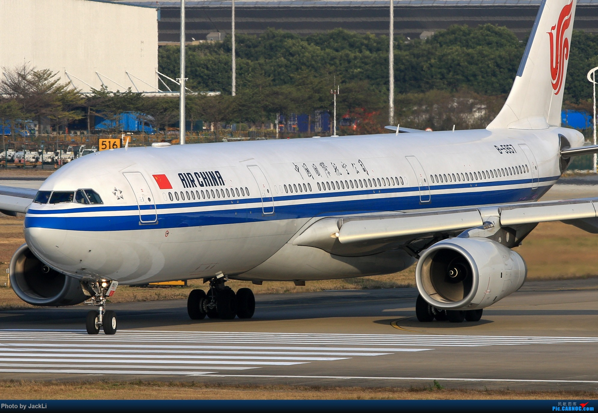 Re:【JackLi】寒假在白云机场的几次拍机~ AIRBUS A330-300 B-5957 中国广州白云国际机场