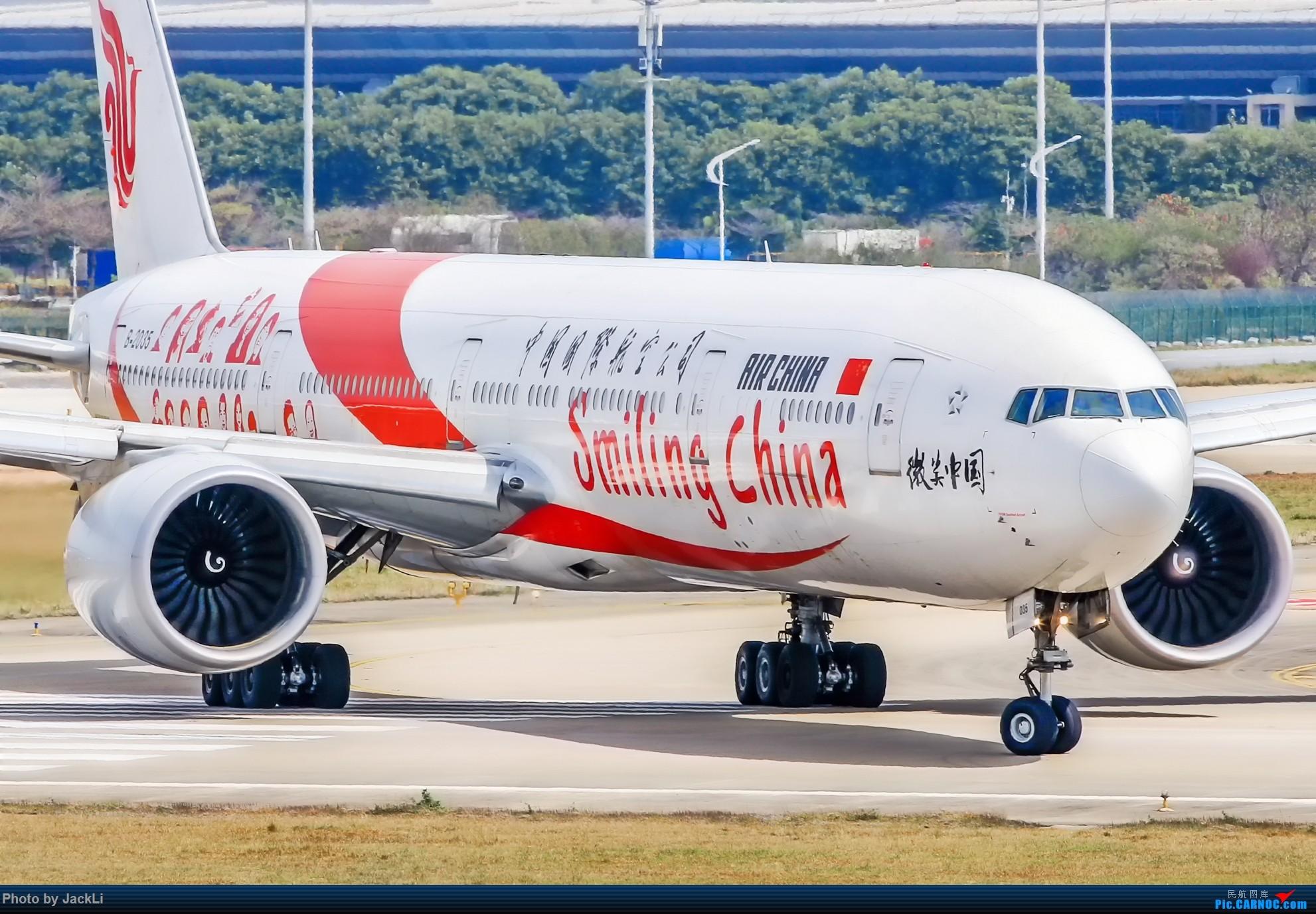Re:[原创]【JackLi】寒假在白云机场的几次拍机~ BOEING 777-300ER B-2035 中国广州白云国际机场
