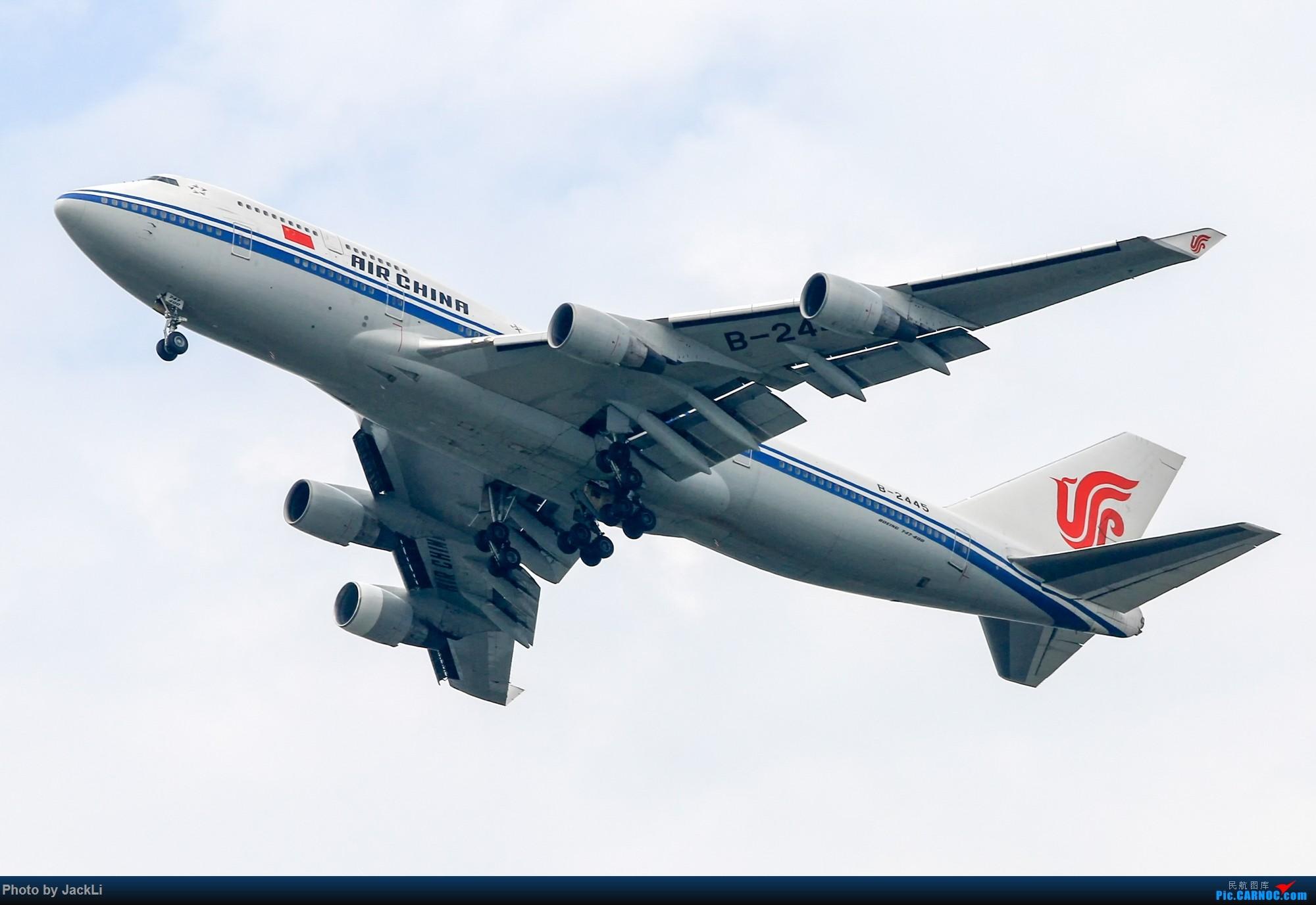 Re:[原创]【JackLi】寒假在白云机场的几次拍机~ BOEING 747-400 B-2445 中国广州白云国际机场