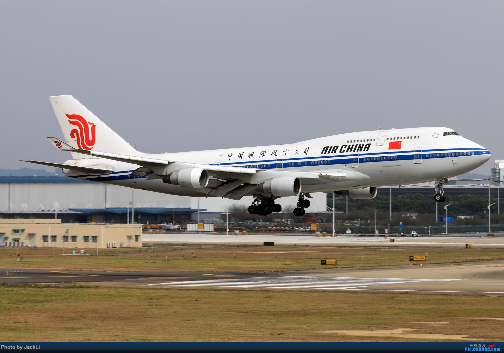 Re:【JackLi】寒假在白云机场的几次拍机~ BOEING 747-400 B-2445 中国广州白云国际机场
