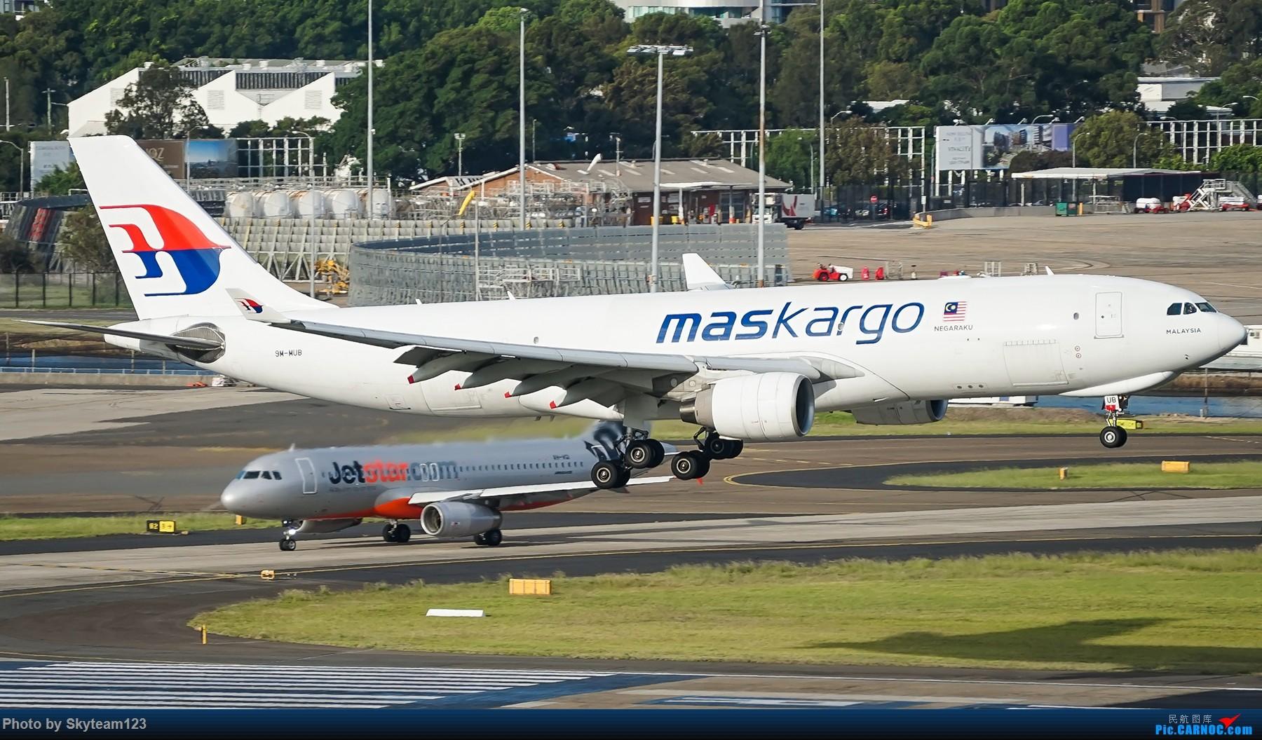 Re:[原创]【SYD】解锁T1国际航站旁停车场顶楼拍机位 下午16R抵达的好货们以及夜拍轨迹 AIRBUS A330-200F 9M-MUB