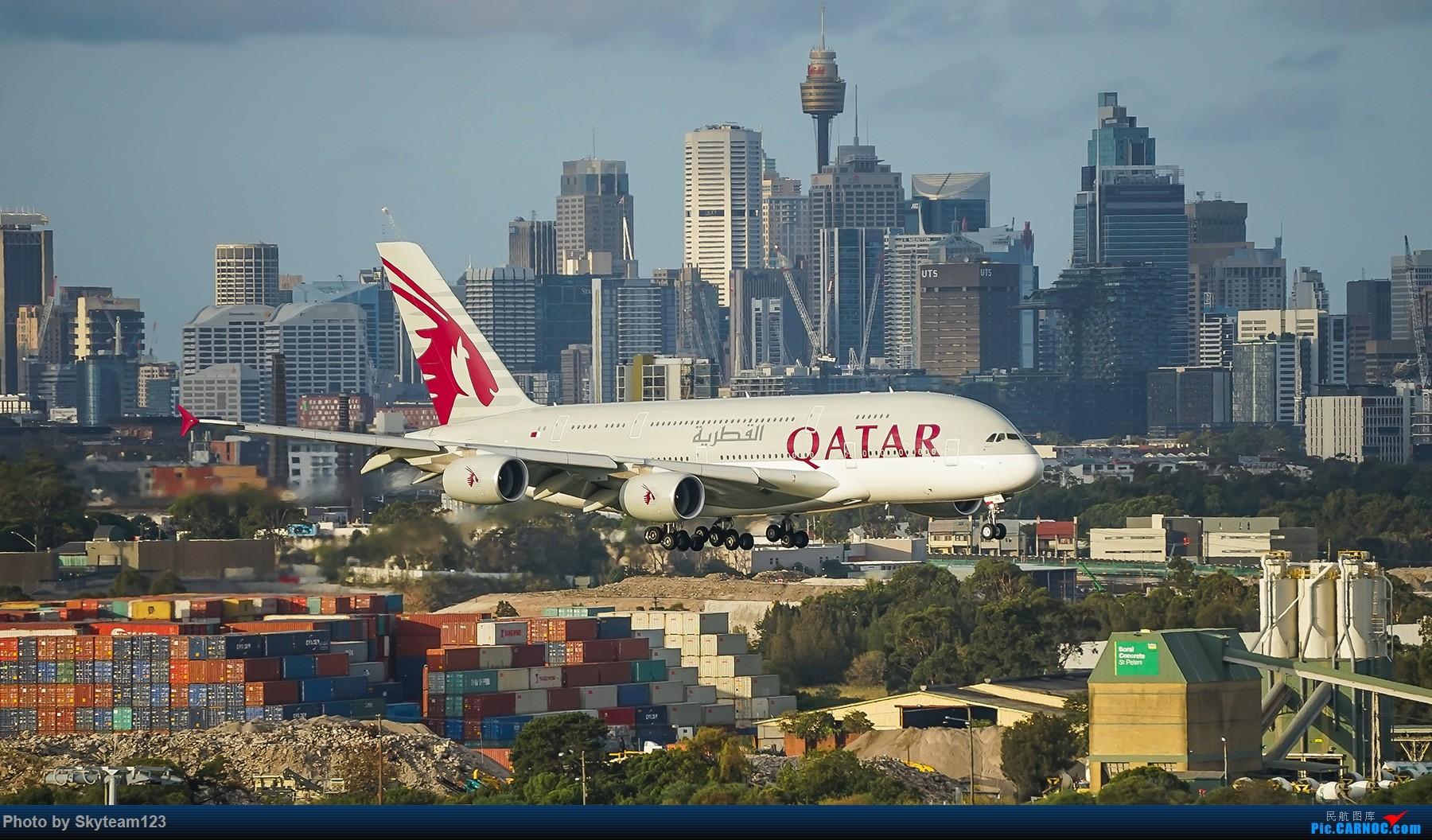Re:[原创]【SYD】解锁T1国际航站旁停车场顶楼拍机位 下午16R抵达的好货们以及夜拍轨迹 AIRBUS A380-800 A7-APA