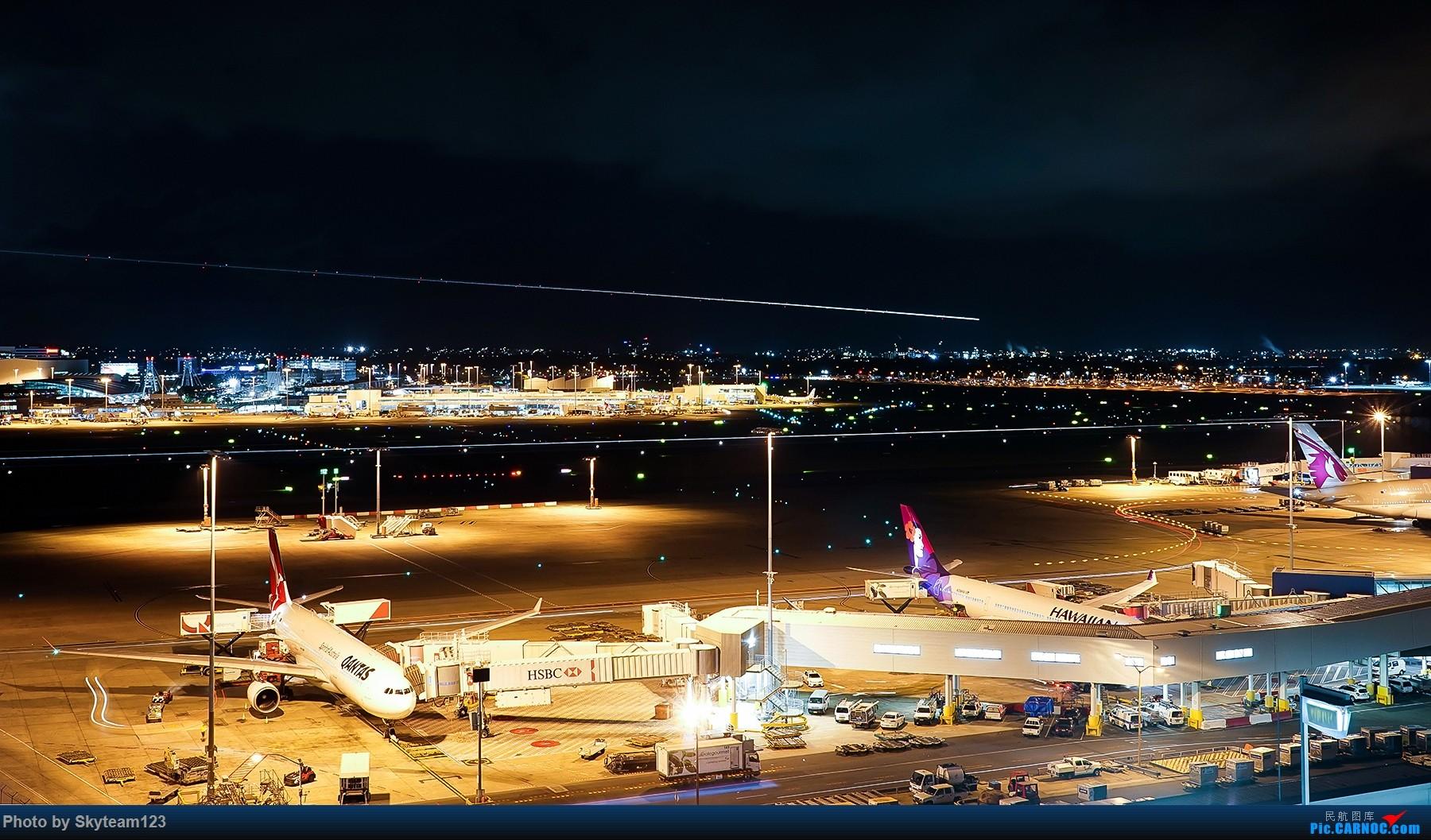 Re:[原创]【SYD】解锁T1国际航站旁停车场顶楼拍机位 下午16R抵达的好货们以及夜拍轨迹 AIRBUS A380-800 A6-APB  澳大利亚悉尼金斯福德·史密斯机场