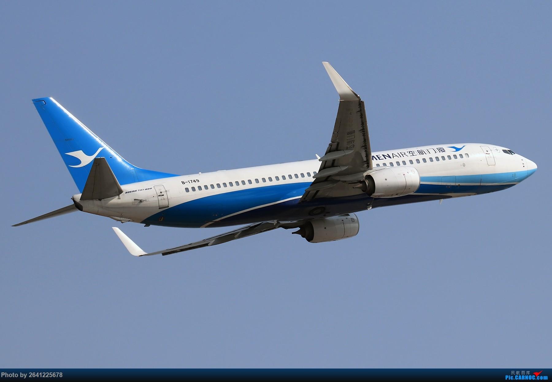 Re:[原创]【TSN】天津滨海国际机场半日游 BOEING 737-800 B-1749 中国天津滨海国际机场
