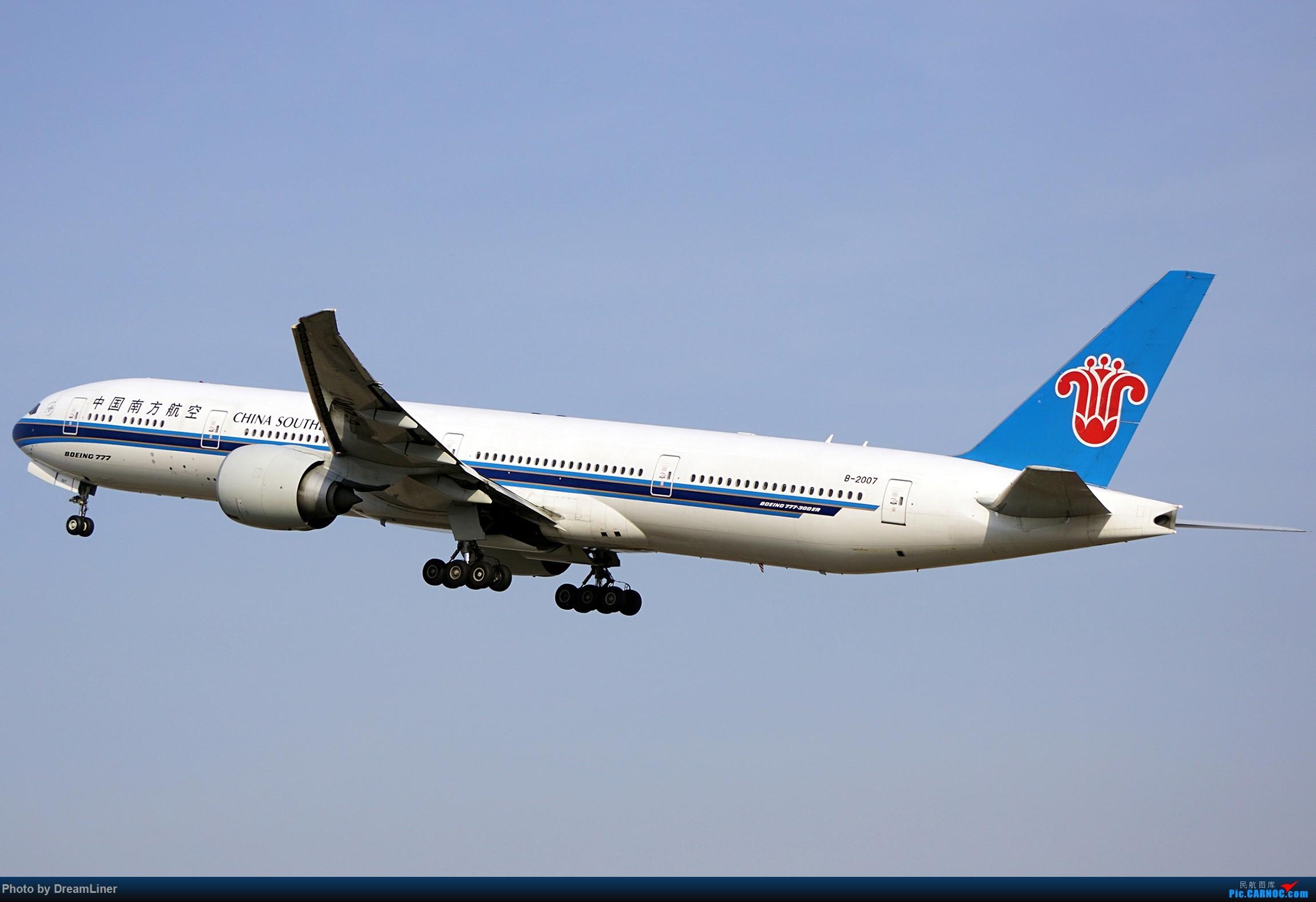 Re:[原创]17年暑假和今年寒假的ZGGG拍机成果 BOEING 777-300ER B-2007 中国广州白云国际机场