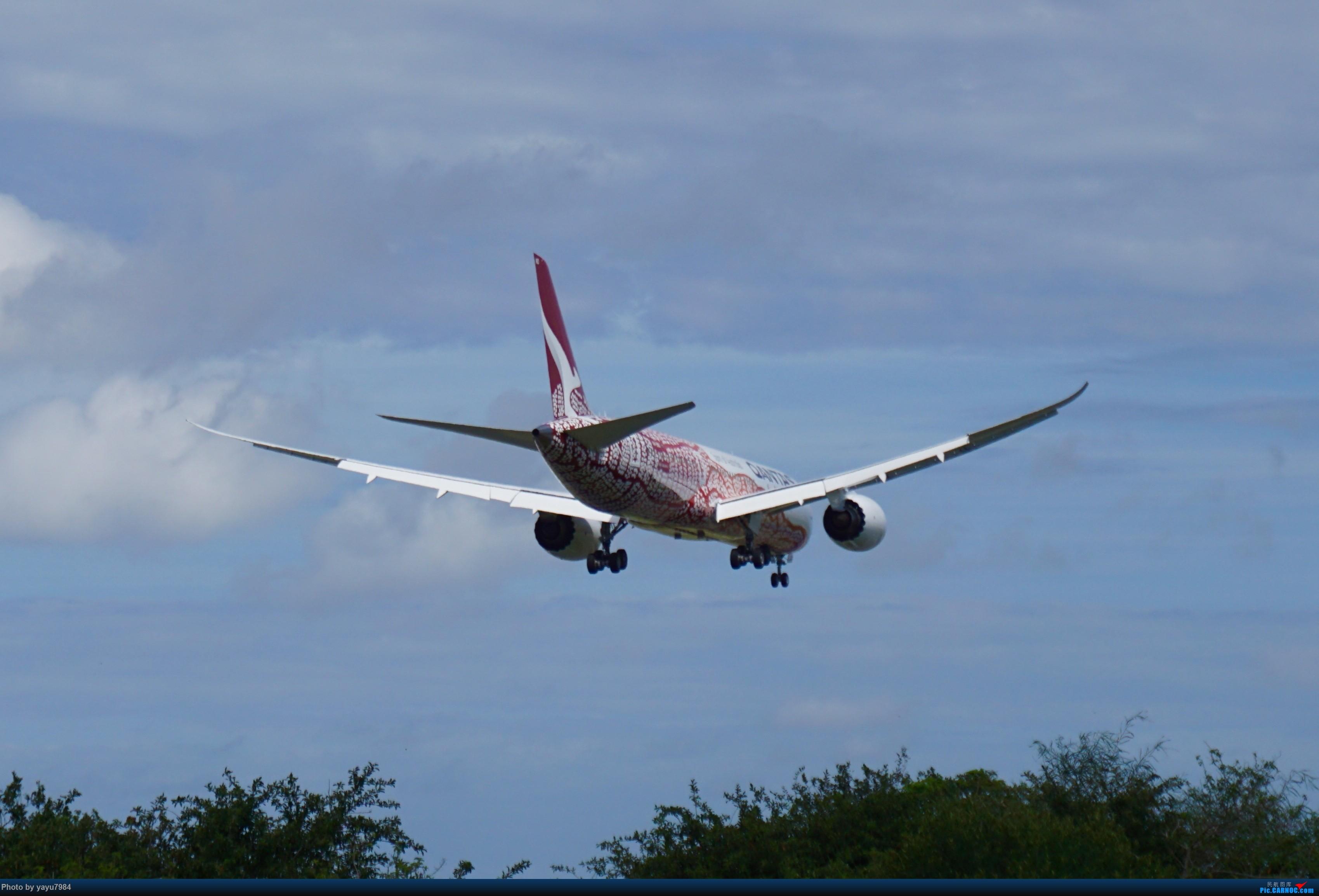 Re:Re:[原创][SYD] 烂天解锁A340-300,顺带其他好货 BOEING 787-9 VH-ZND 澳大利亚悉尼金斯福德·史密斯机场
