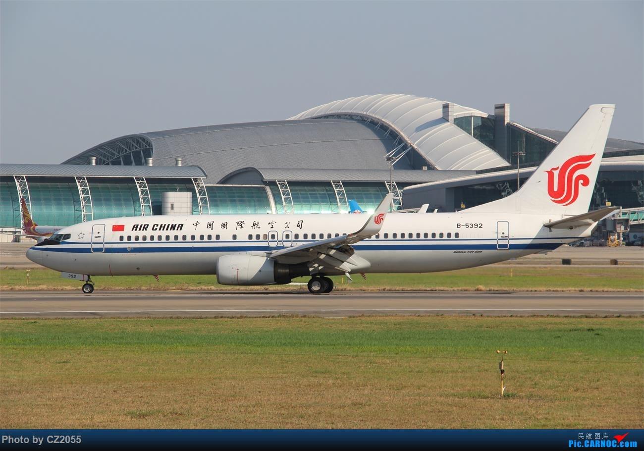 Re:【CZ2055】再疲劳也不放过晴天,初次尝试煤堆拍机。 BOEING 737-800 B-5392 中国广州白云国际机场