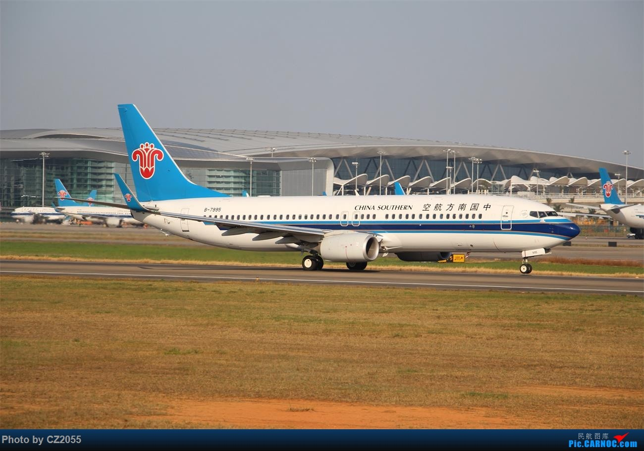 Re:[原创]【CZ2055】再疲劳也不放过晴天,初次尝试煤堆拍机。 BOEING 737-800 B-7995 中国广州白云国际机场