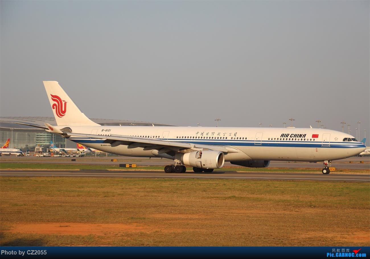 Re:[原创]【CZ2055】再疲劳也不放过晴天,初次尝试煤堆拍机。 AIRBUS A330-300 B-6101 中国广州白云国际机场