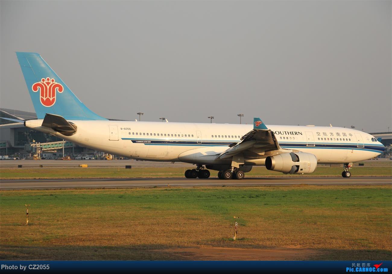 Re:[原创]【CZ2055】再疲劳也不放过晴天,初次尝试煤堆拍机。 AIRBUS A330-200 B-6056 中国广州白云国际机场