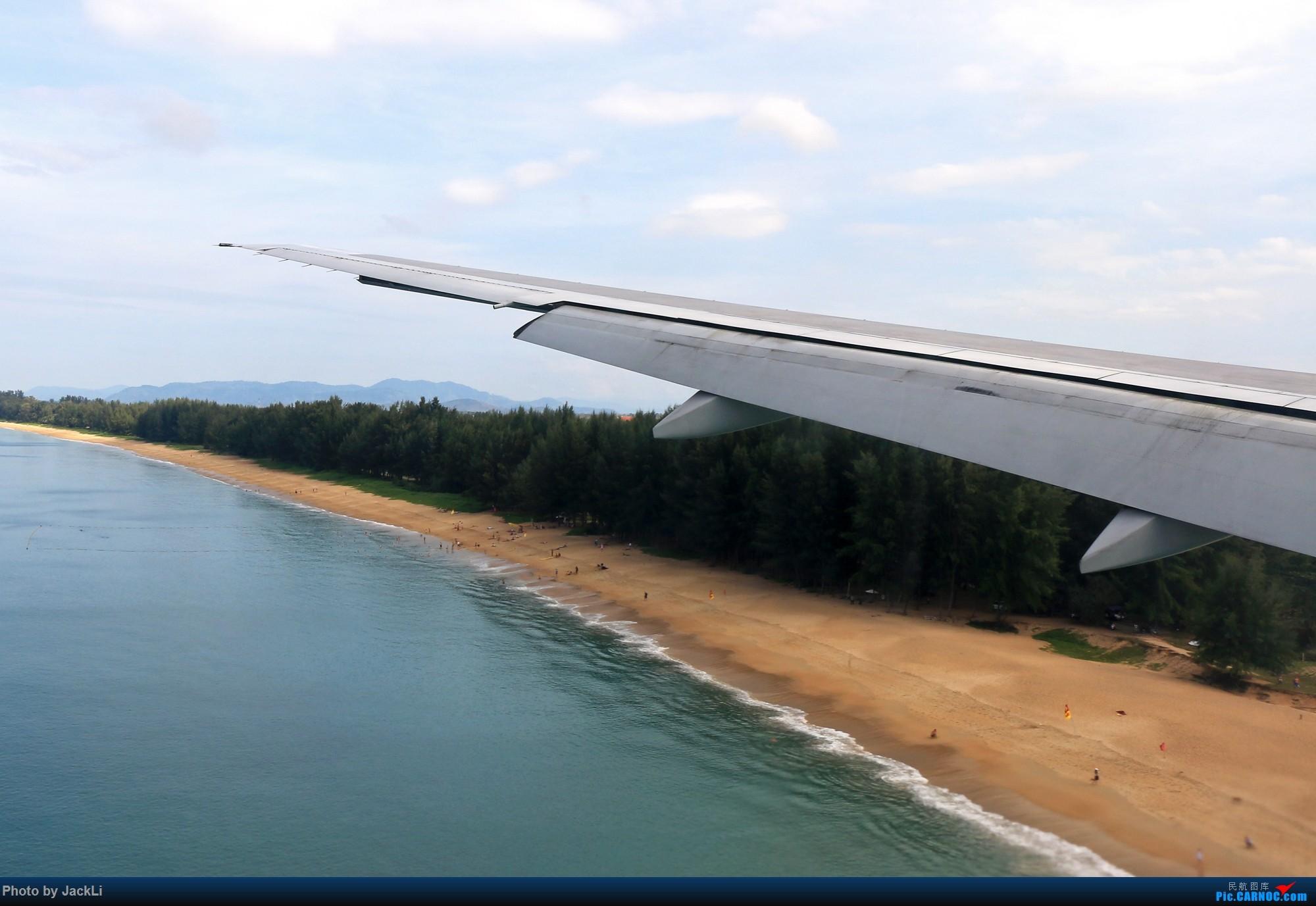 Re:[原创]【JackLi】亚洲圣马丁~普吉岛机场拍机 BOEING 777-200 HS-TJC 泰国普吉机场