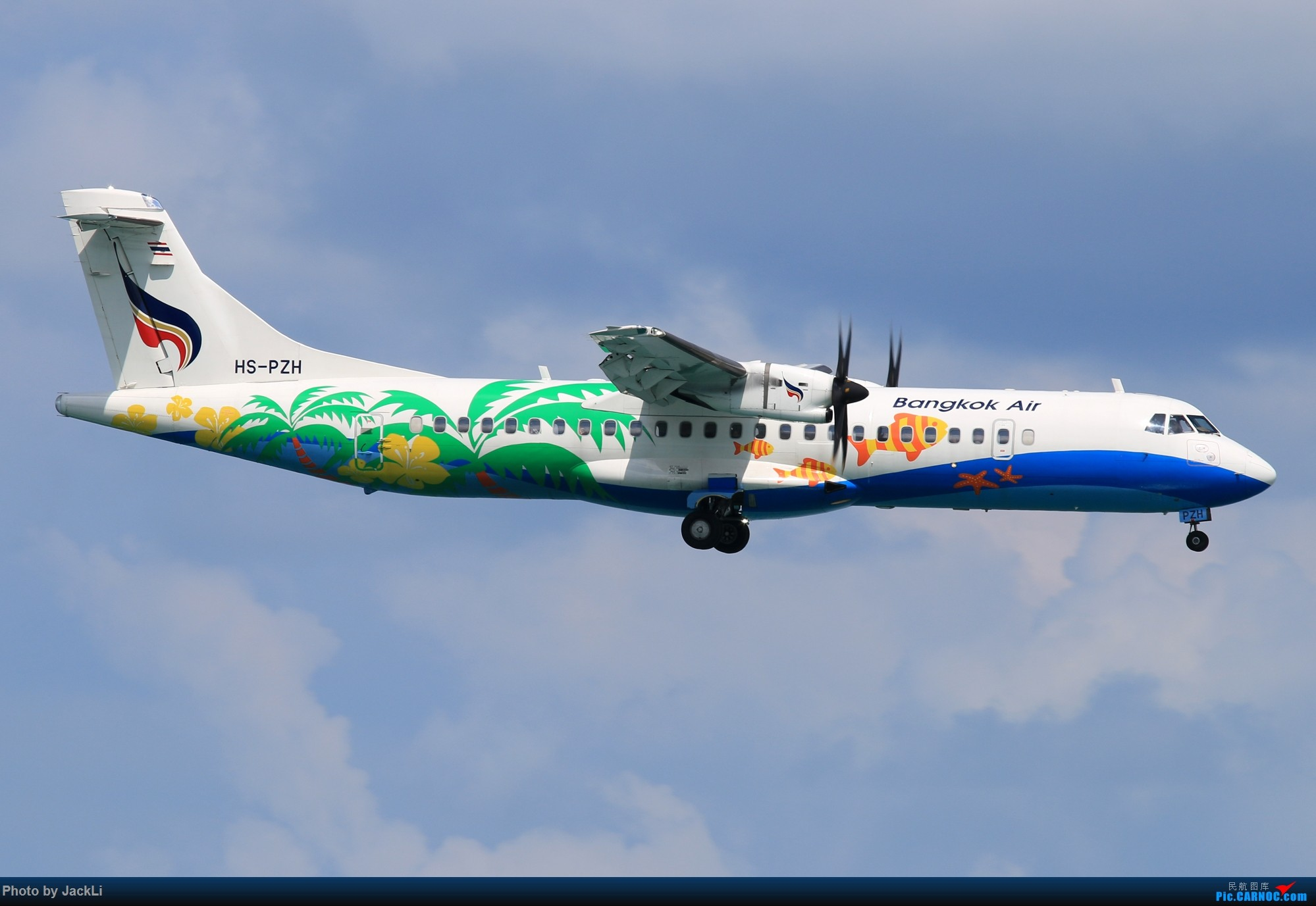 Re:[原创]【JackLi】亚洲圣马丁~普吉岛机场拍机 ATR-72 HS-PZH 泰国普吉机场