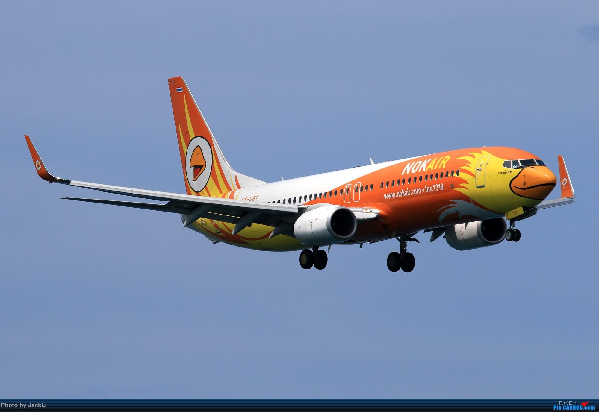 Re:[原创]【JackLi】亚洲圣马丁~普吉岛机场拍机 BOEING 737-800 HS-DBT 泰国普吉机场
