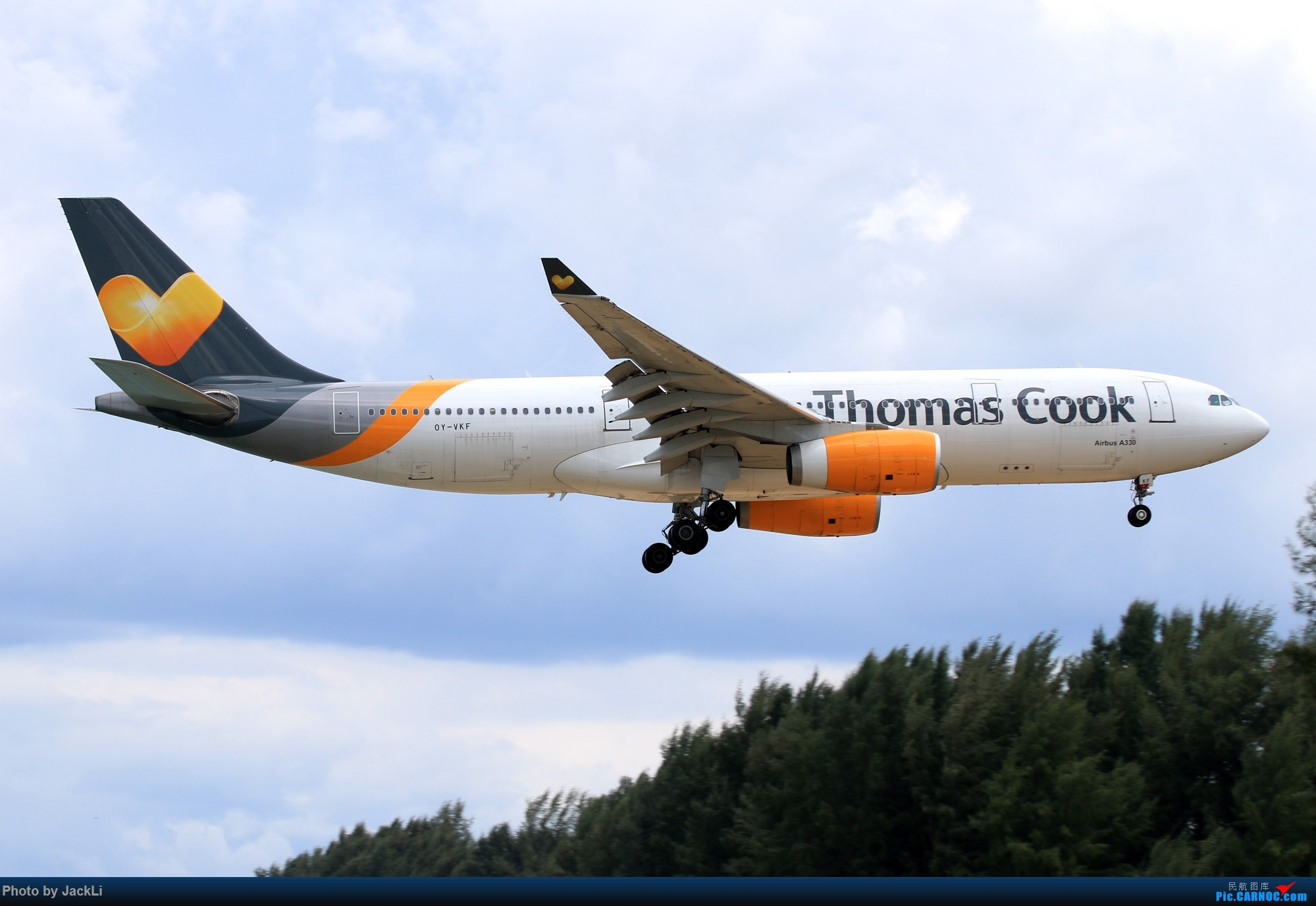 Re:[原创]【JackLi】亚洲圣马丁~普吉岛机场拍机 AIRBUS A330-200 OY-VKF 泰国普吉机场