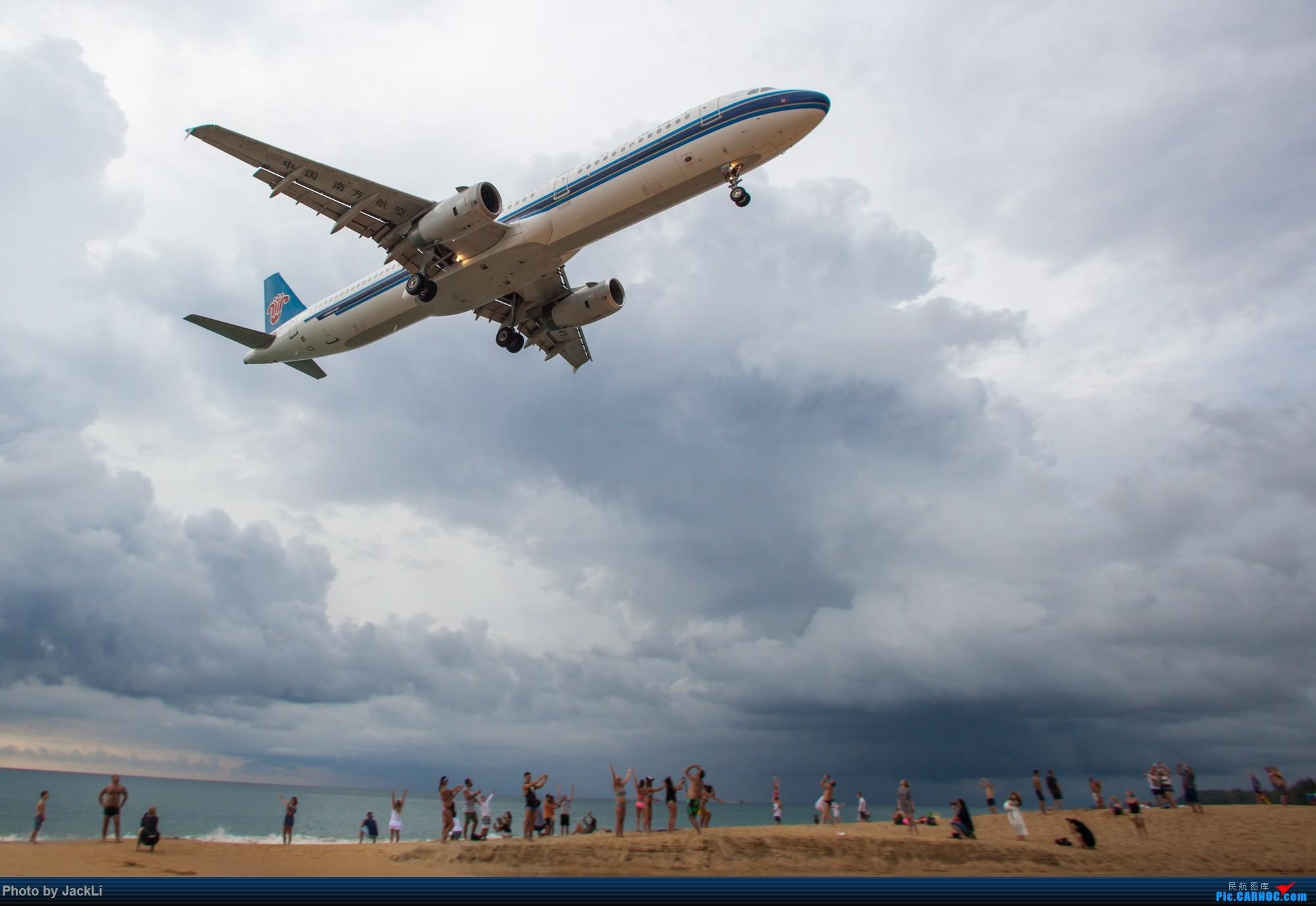 Re:[原创]【JackLi】亚洲圣马丁~普吉岛机场拍机 AIRBUS A321-200 B-6343 泰国普吉机场