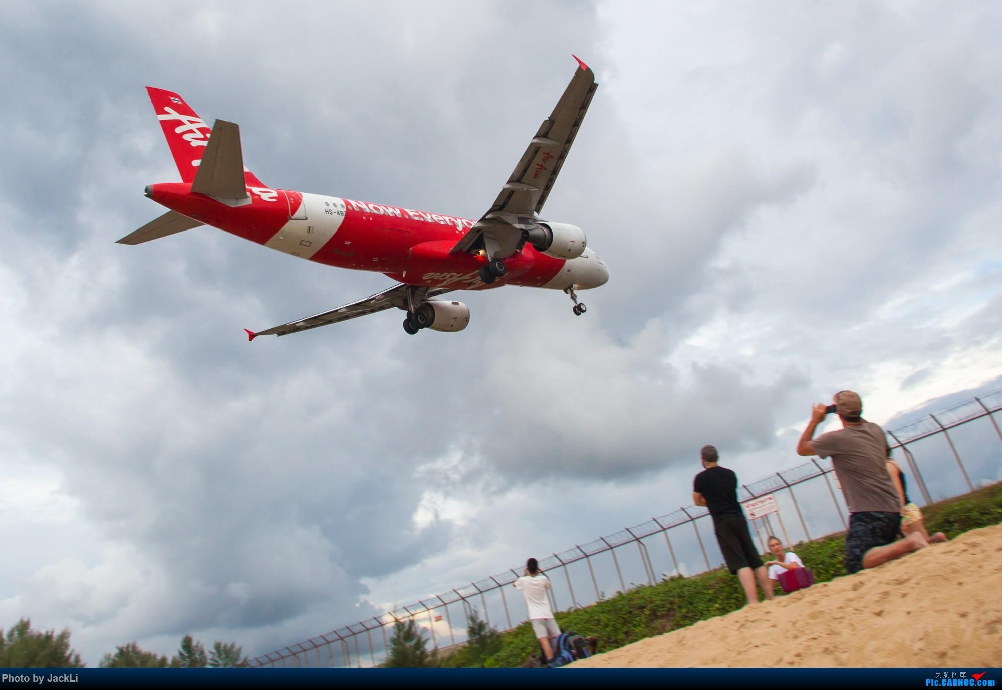 Re:[原创]【JackLi】亚洲圣马丁~普吉岛机场拍机 AIRBUS A320 HS-ABZ 泰国普吉机场