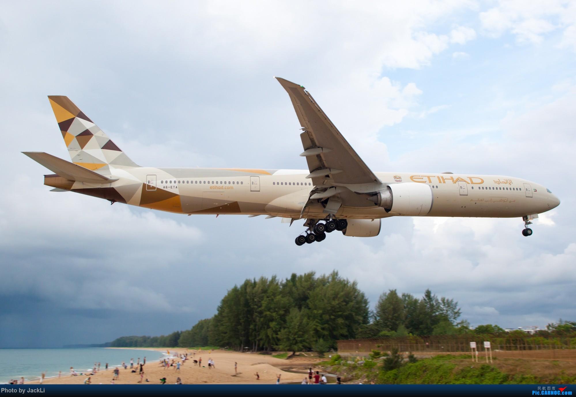 Re:[原创]【JackLi】亚洲圣马丁~普吉岛机场拍机 BOEING 777-300ER A6-ETA 泰国普吉机场