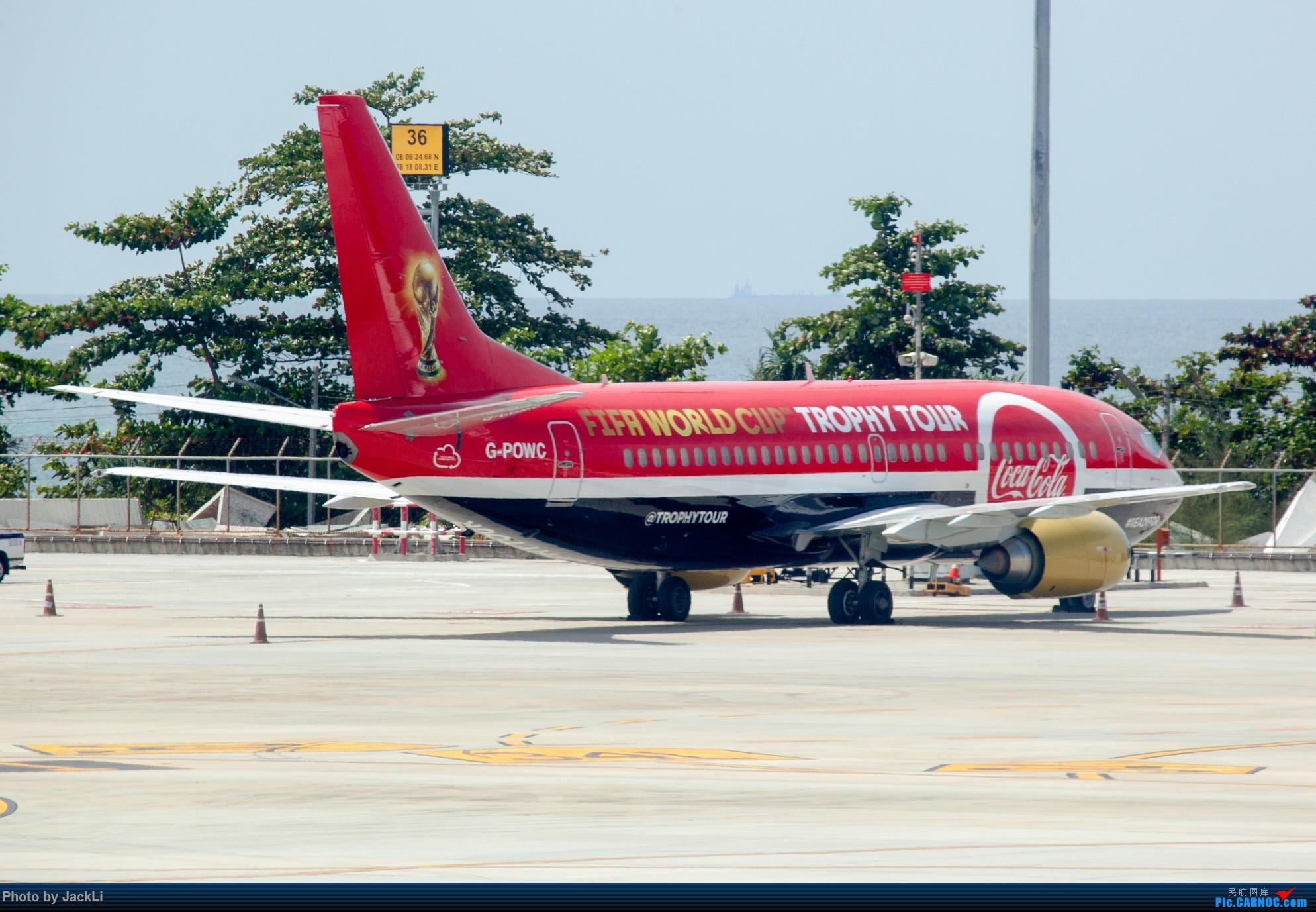 Re:[原创]【JackLi】亚洲圣马丁~普吉岛机场拍机 BOEING 737-300 G-POWC 泰国普吉机场