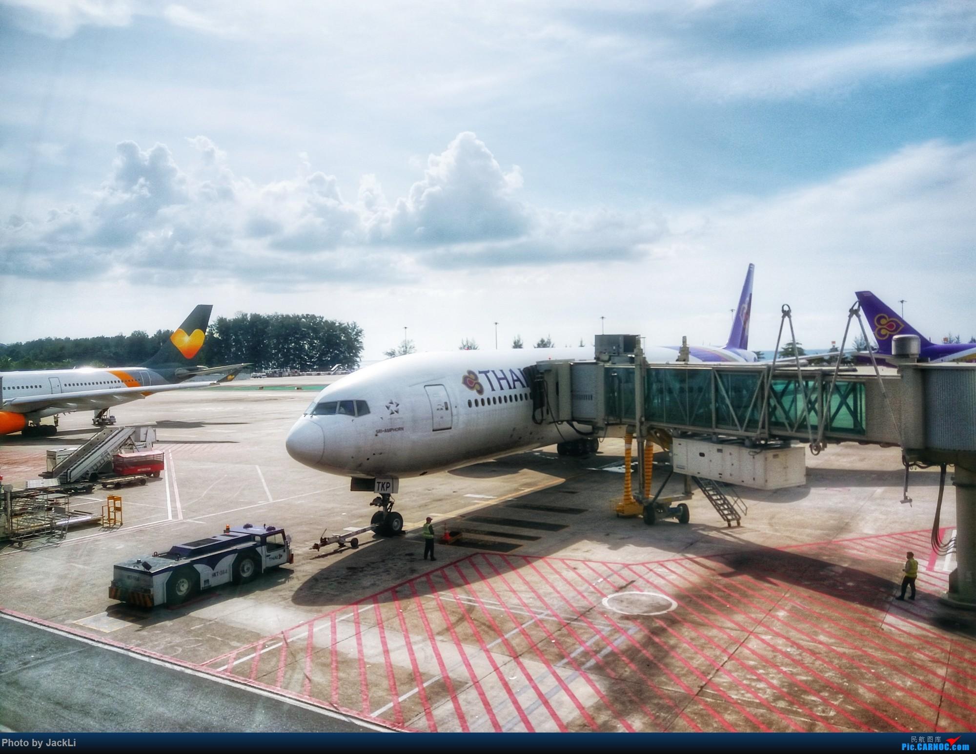 Re:[原创]【JackLi】亚洲圣马丁~普吉岛机场拍机 BOEING 777-300ER HS-TKP 泰国普吉机场