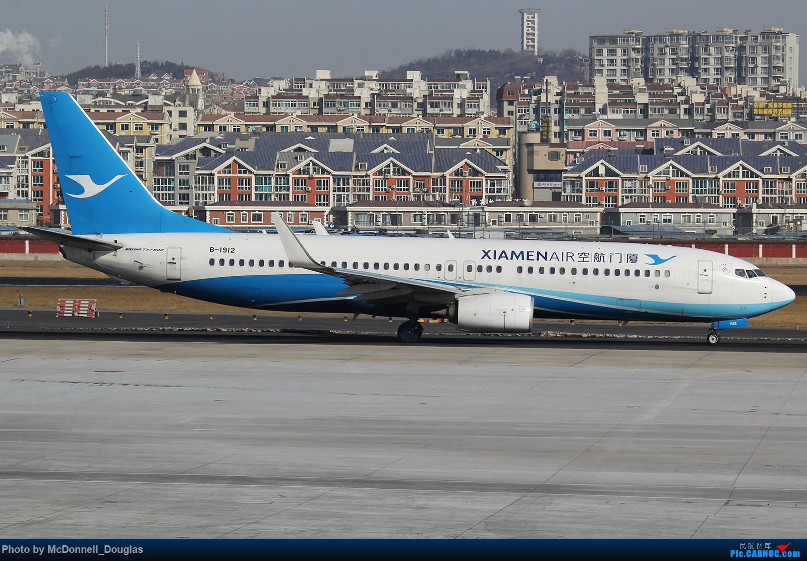 Re:[原创]【上海飞友会】年后发一波图来刷一小些存在感~ BOEING 737-85C B-1912 中国大连国际机场