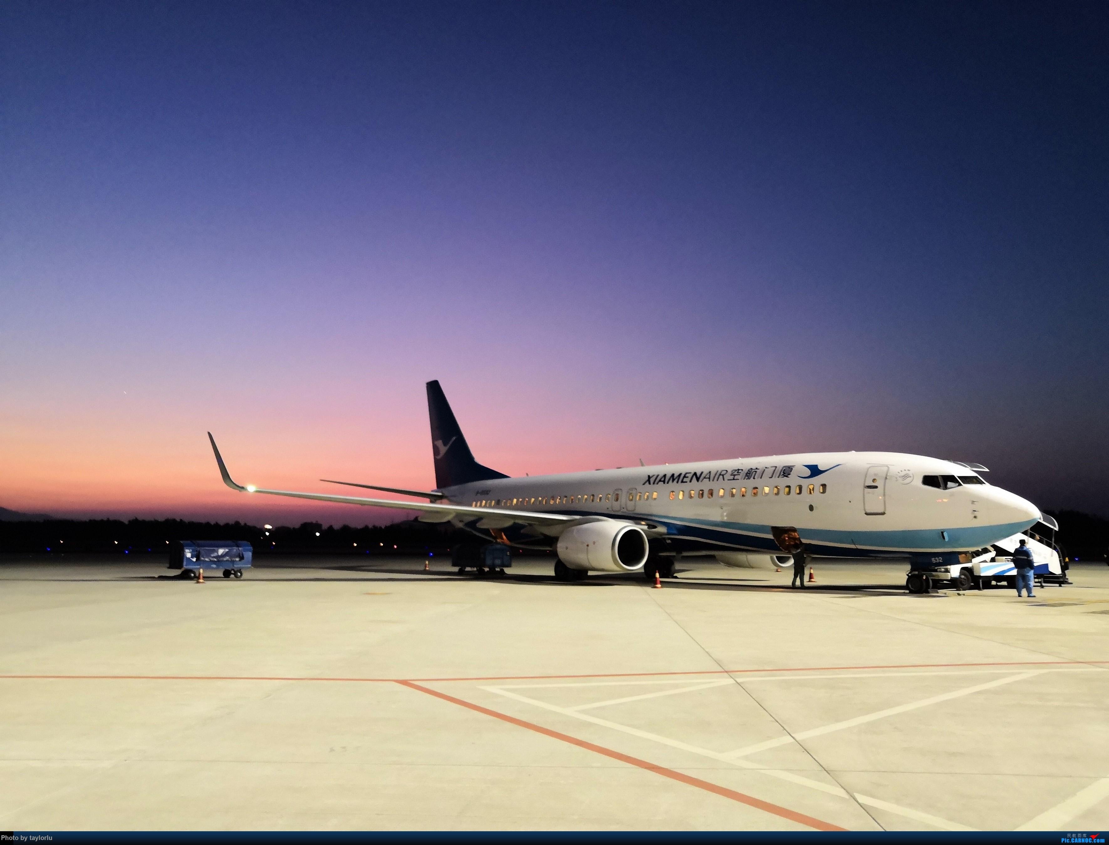 假冒一图党--福州+厦航+日落 BOEING 737-800 B-8532 中国福州长乐国际机场