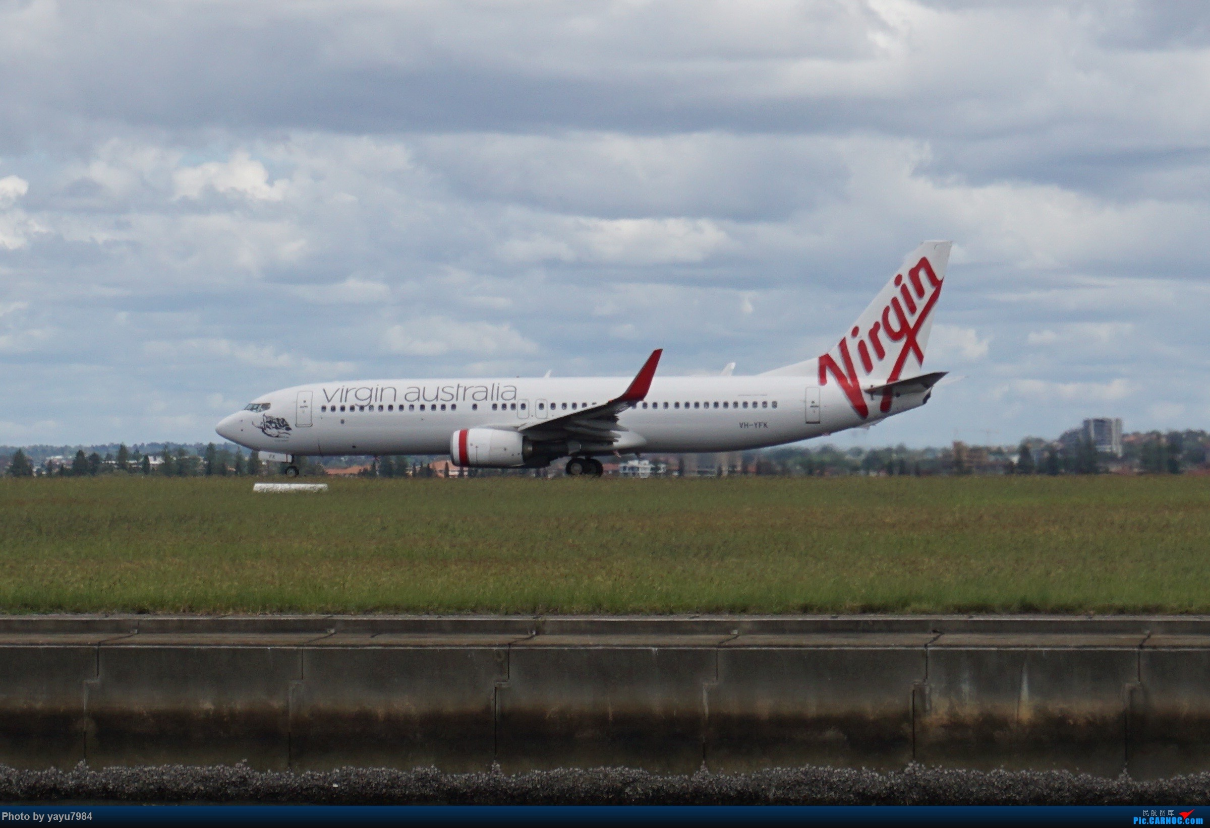 Re:[原创][SYD] 开帖分享一下16L/34R,以及07/25跑道周边的新拍机点位 BOEING 737-800 VH-YFK 澳大利亚悉尼金斯福德·史密斯机场