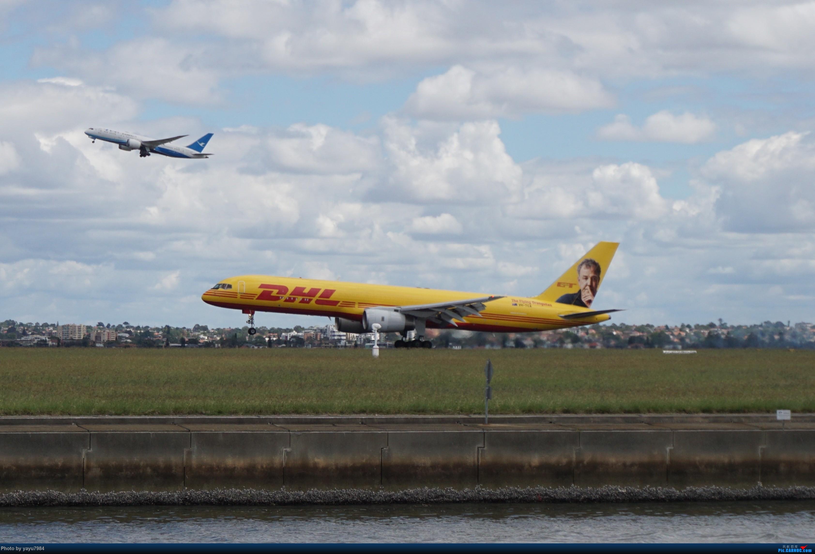 Re:[原创][SYD] 开帖分享一下16L/34R,以及07/25跑道周边的新拍机点位 BOEING 757-200 VH-TCA 澳大利亚悉尼金斯福德·史密斯机场