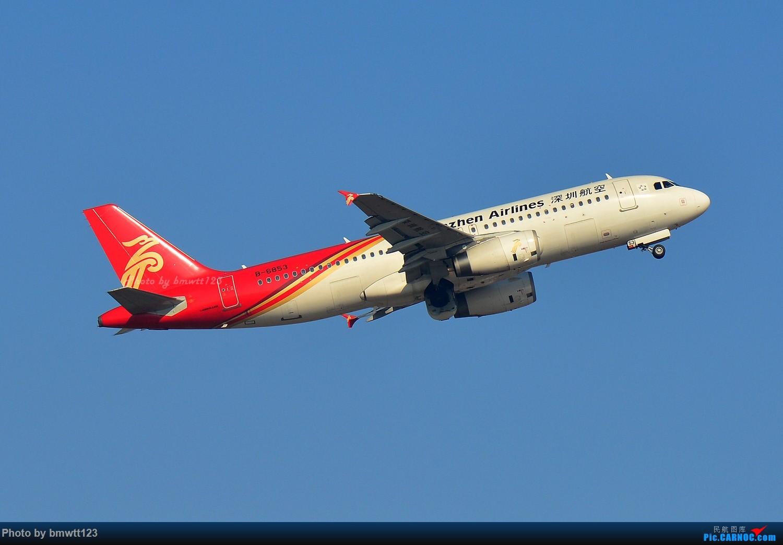 Re:[原创]【SHE沈阳】第43次桃仙拍机!好久没拍了。。。 AIRBUS A320-200 B-6853 中国沈阳桃仙国际机场