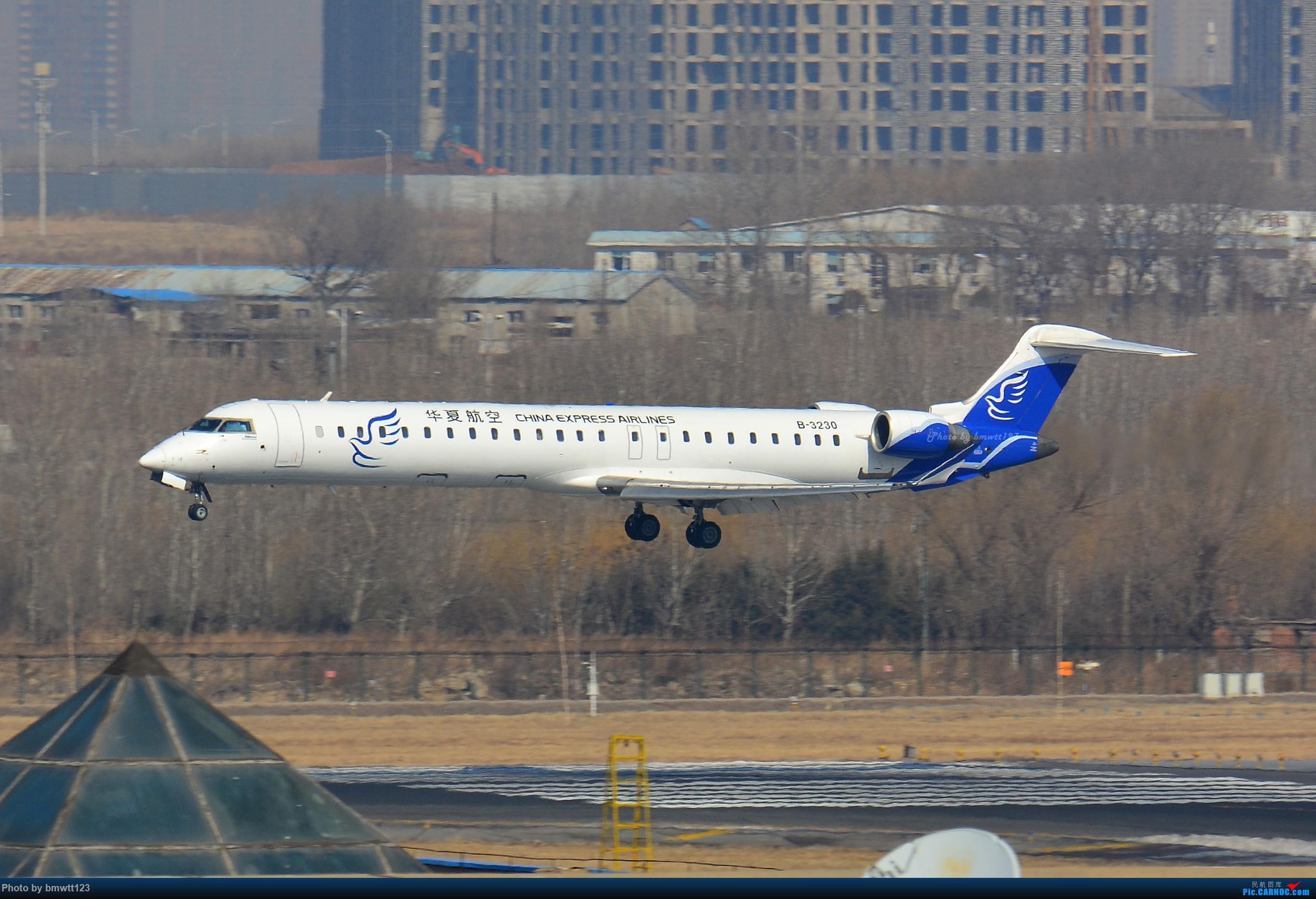 Re:[原创]【SHE沈阳】第43次桃仙拍机!好久没拍了。。。 BOMBARDIER CRJ900NG B-3230 中国沈阳桃仙国际机场