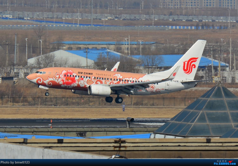 Re:[原创]【SHE沈阳】第43次桃仙拍机!好久没拍了。。。 BOEING 737-700 B-5214 中国沈阳桃仙国际机场