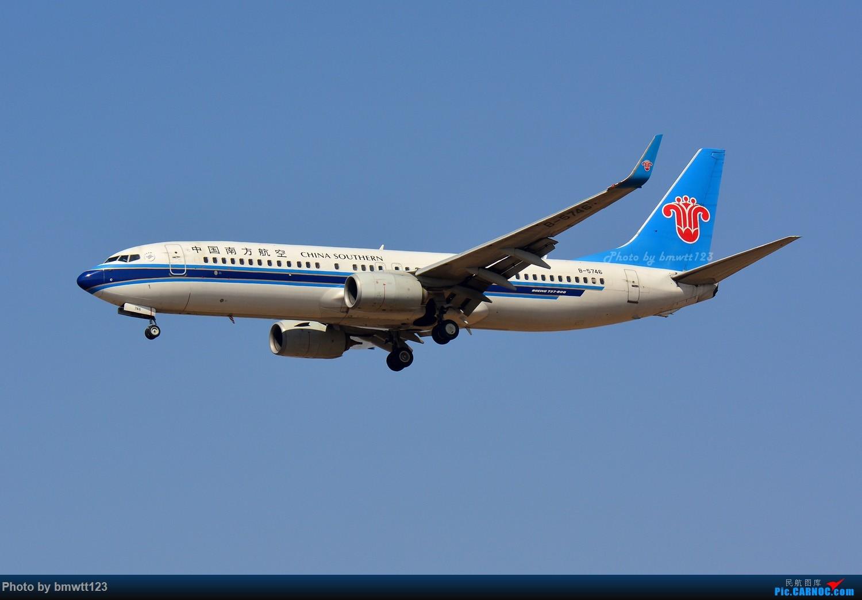 Re:[原创]【SHE沈阳】第43次桃仙拍机!好久没拍了。。。 BOEING 737-800 B-5746 中国沈阳桃仙国际机场