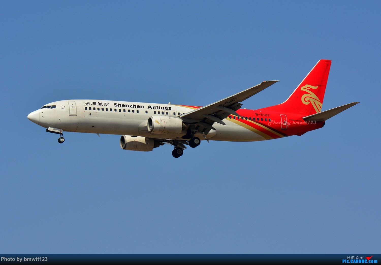 Re:[原创]【SHE沈阳】第43次桃仙拍机!好久没拍了。。。 BOEING 737-800 B-5187 中国沈阳桃仙国际机场