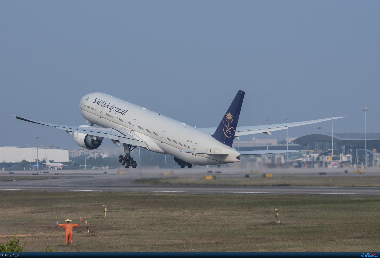 Re:2017年最后一次CAN拍机 BOEING 777-300ER HZ-AK19 中国广州白云国际机场