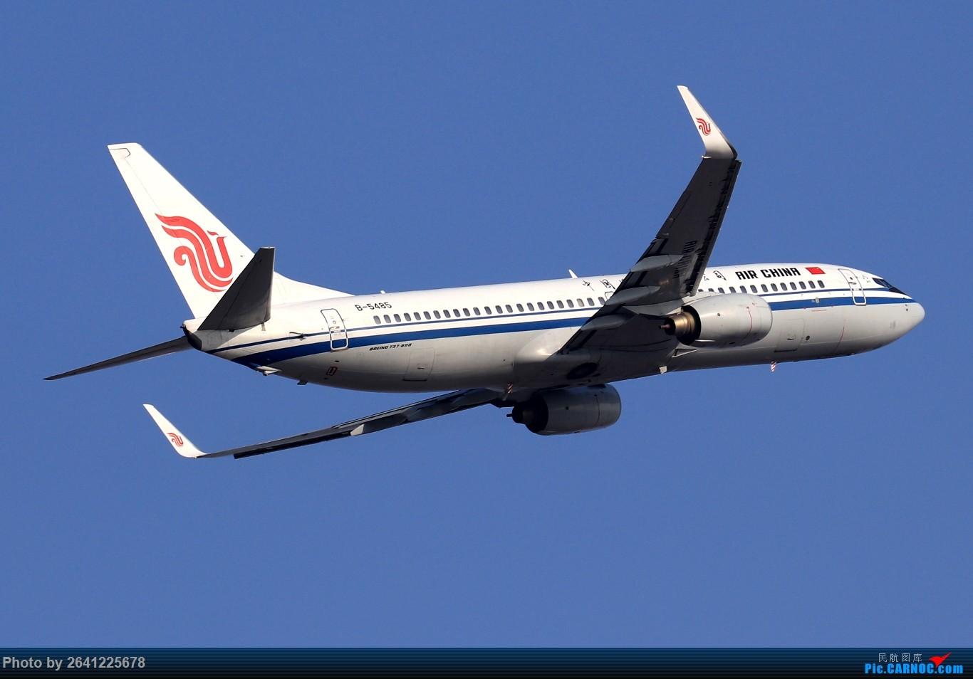 Re:[原创]【TSN】天津滨海国际机场半日游(按注册号1~9发图) BOEING 737-800 B-5485 中国天津滨海国际机场