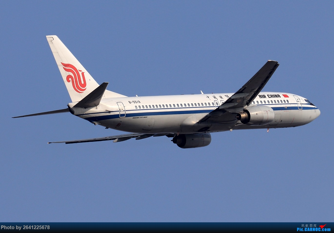 Re:[原创]【TSN】天津滨海国际机场半日游(按注册号1~9发图) BOEING 737-800 B-5519 中国天津滨海国际机场