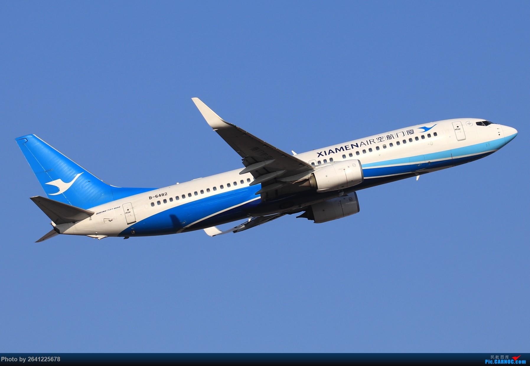 Re:[原创]【TSN】天津滨海国际机场半日游(按注册号1~9发图) BOEING 737-800 B-6482 中国天津滨海国际机场